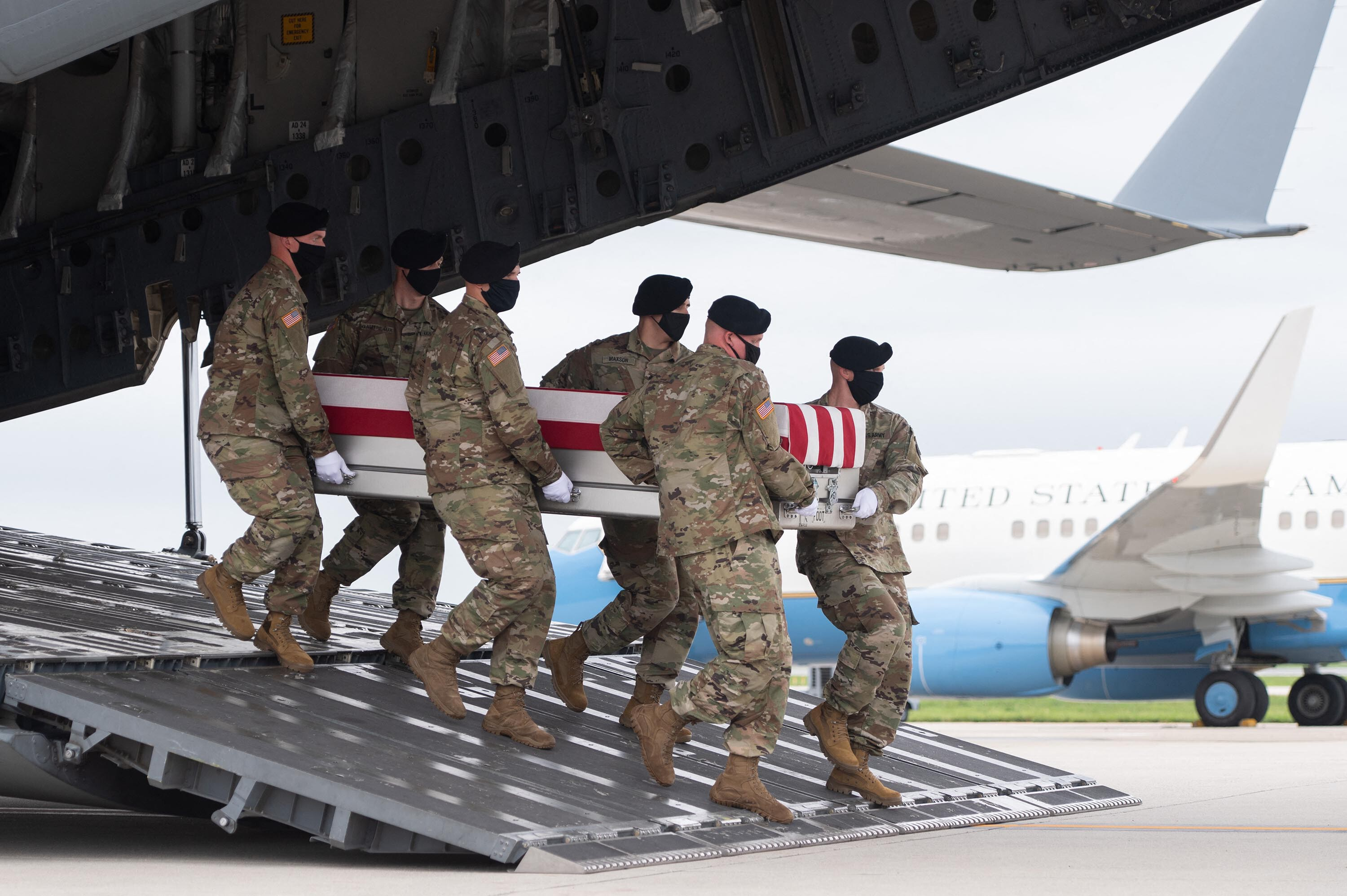 House votes to posthumously award the Congressional Gold Medal to 13 US service members killed in Kabul airport bombing