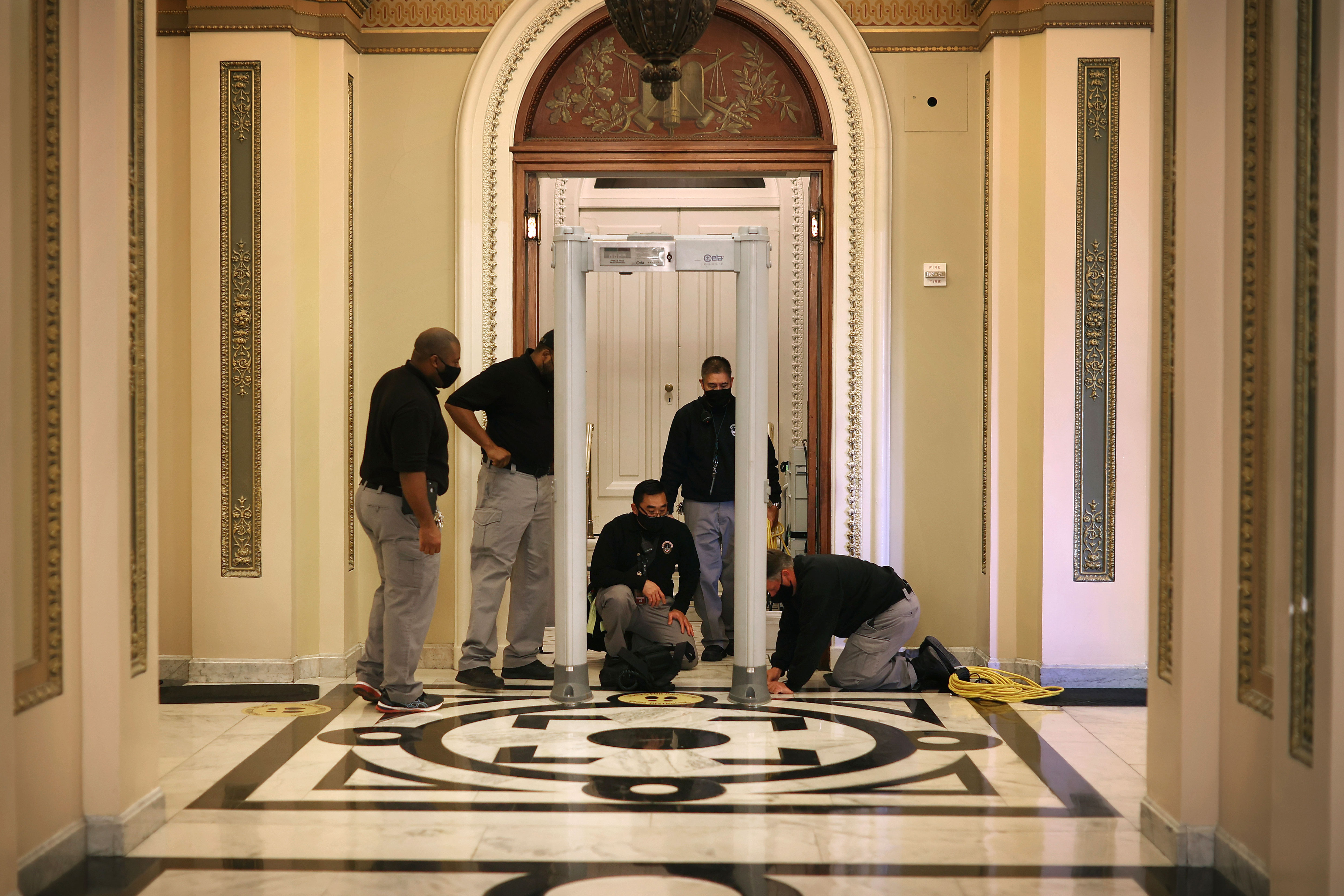 Lawmakers express fears about Capitol safety while tensions grow over new security measures