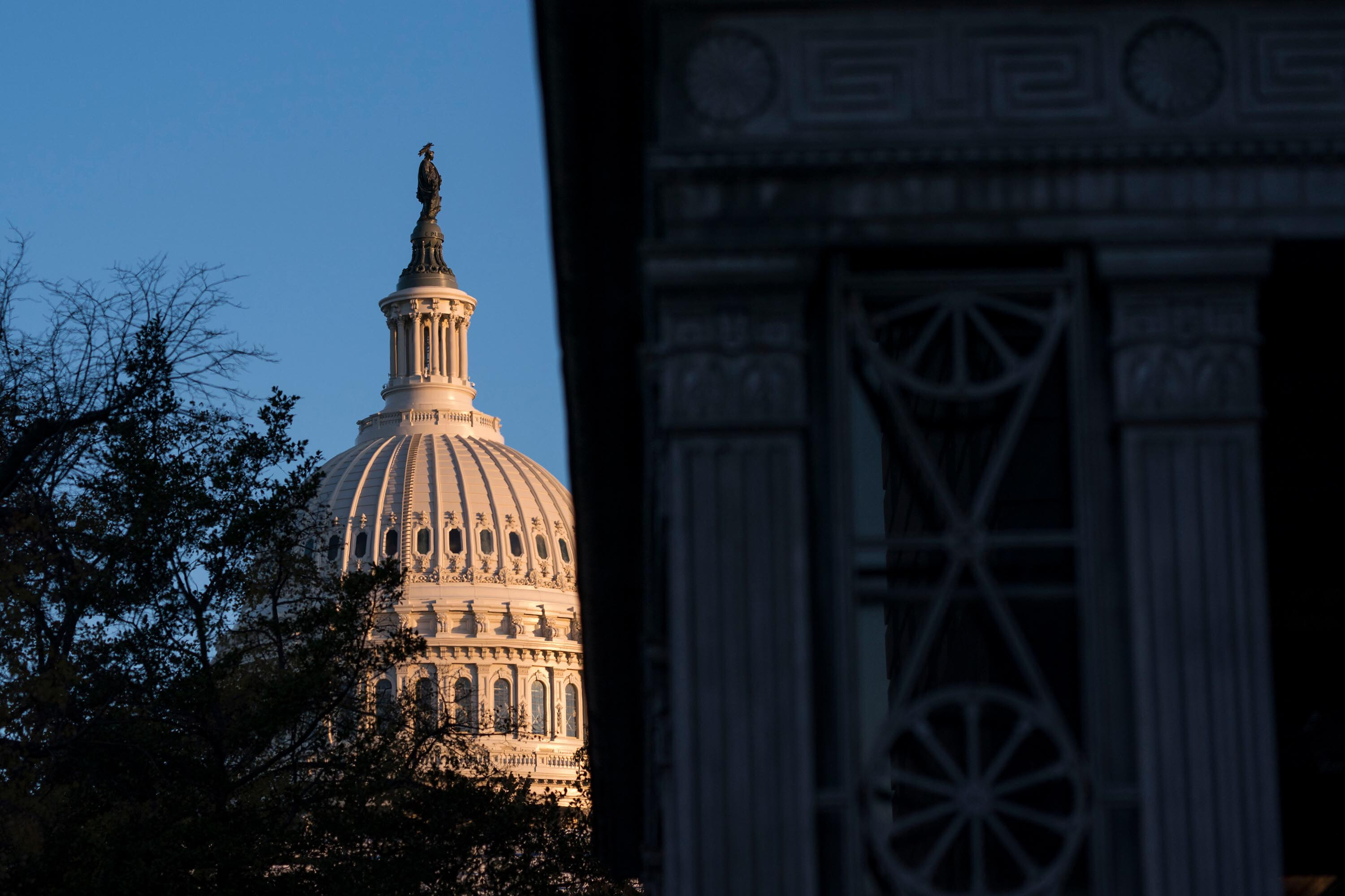 Senate negotiators remain far apart on security funding but they are talking