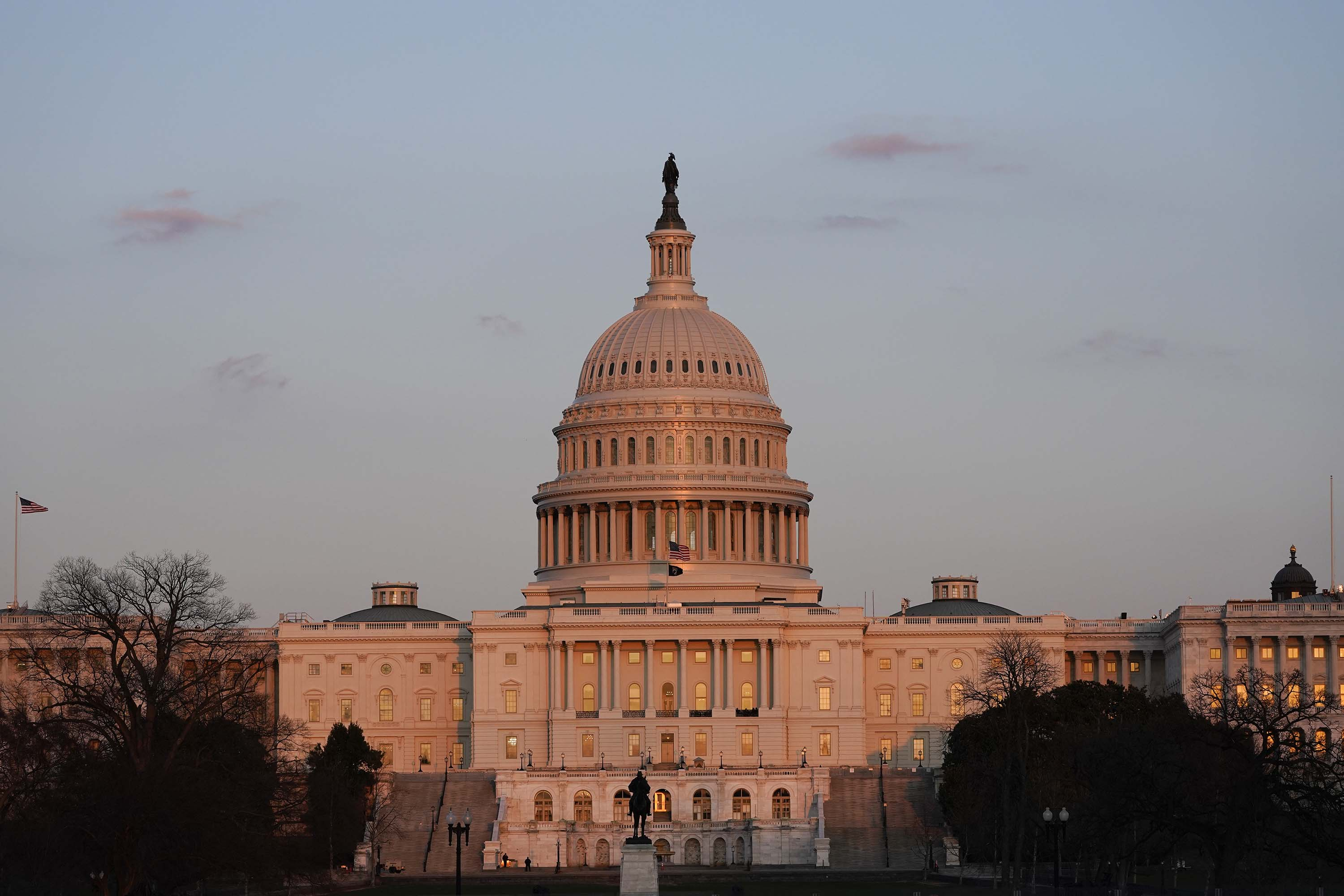 The last hours of the relief bill tick down in the US Senate