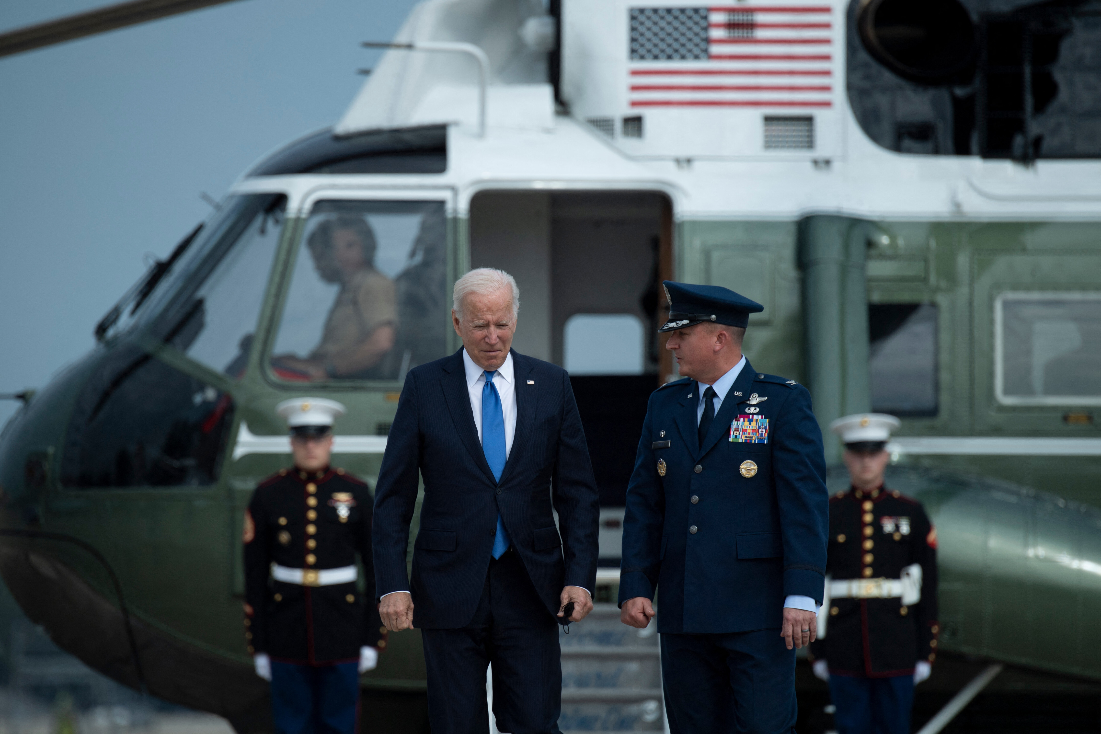 Biden gives some clues on potential compromises to his social safety net plan