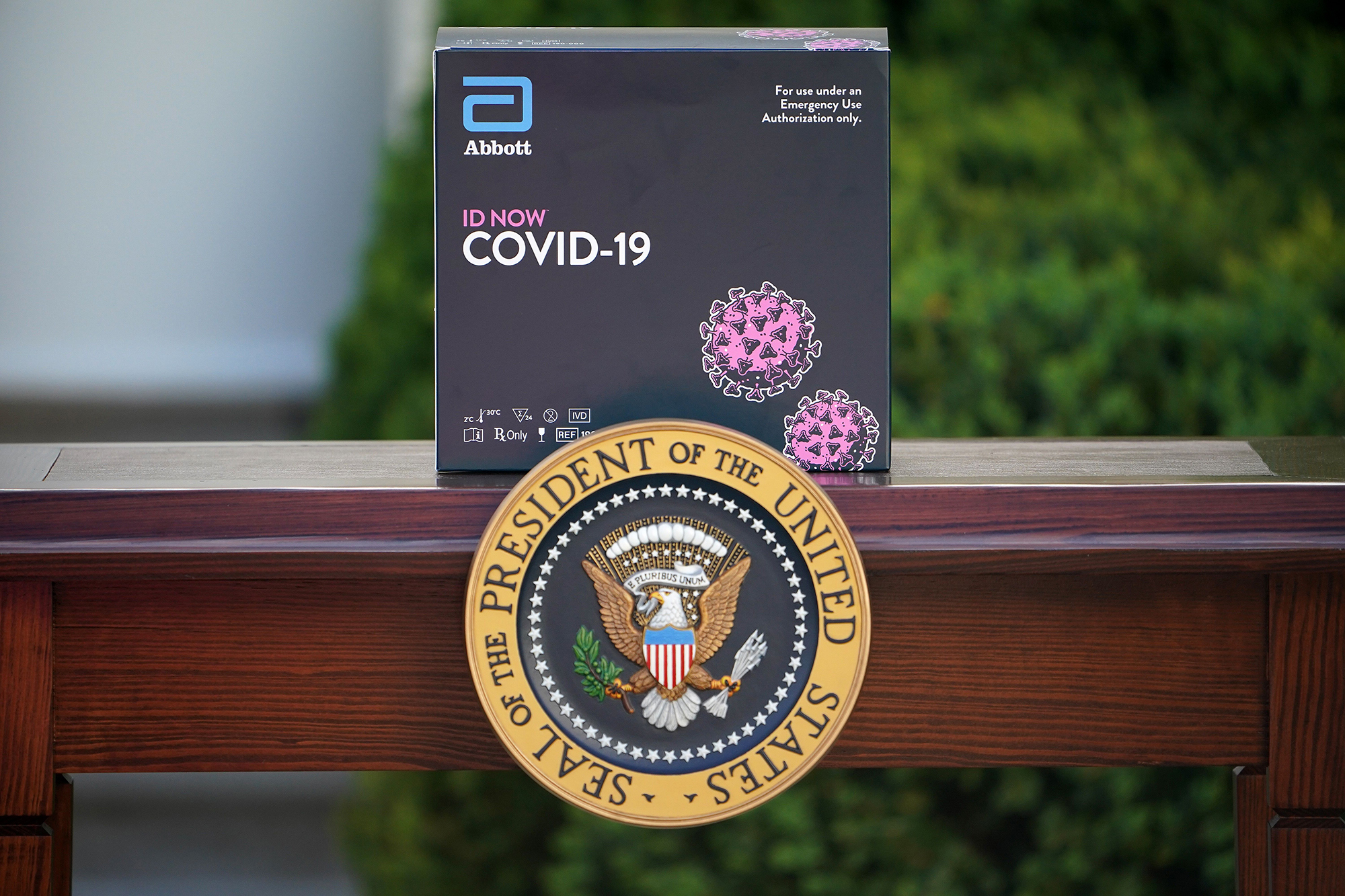 Coronavirus test used by White House has questionable accuracy