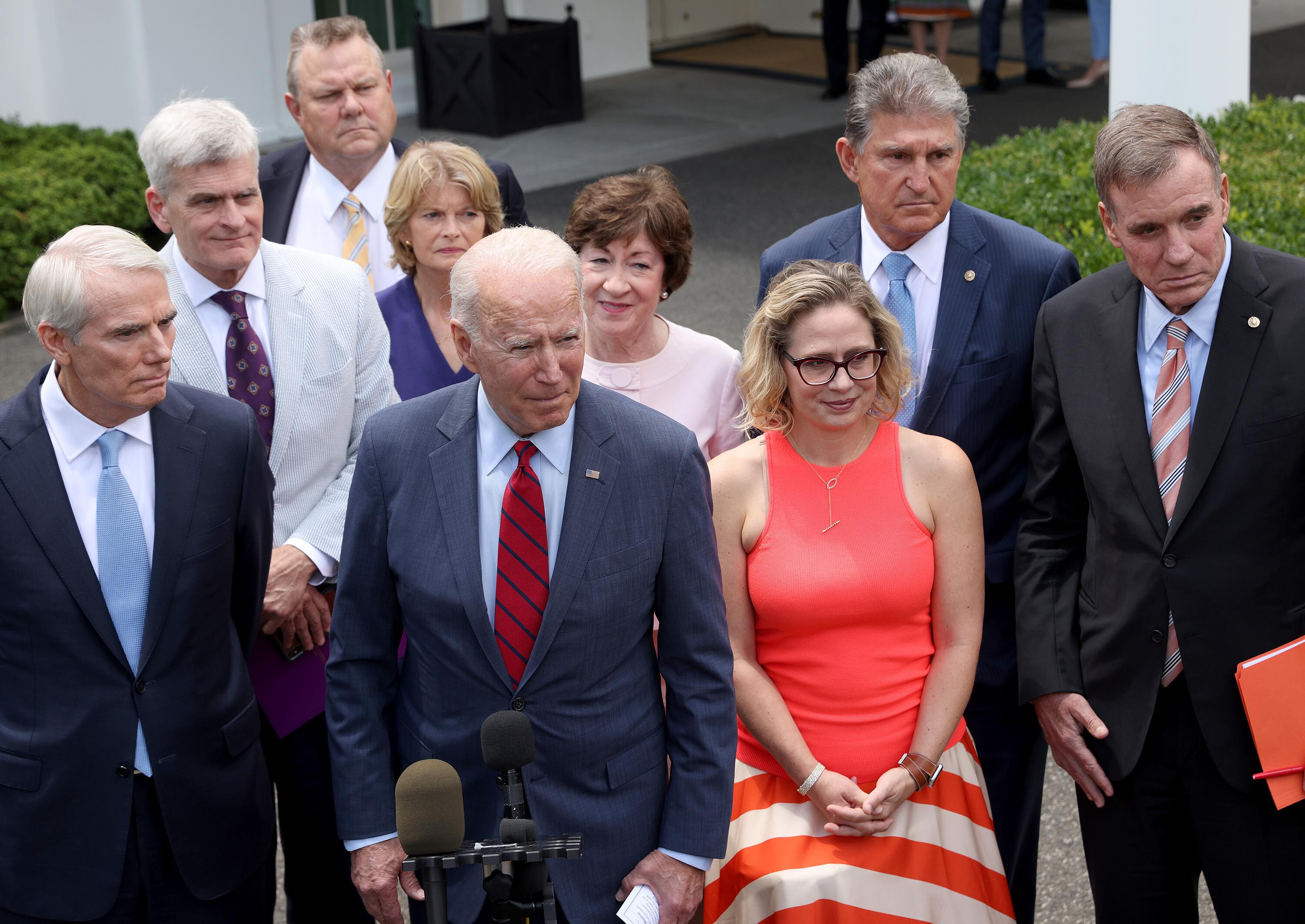 Sinema's opposition to raising the corporate tax rate leaves White House scrambling to pay for Biden's agenda