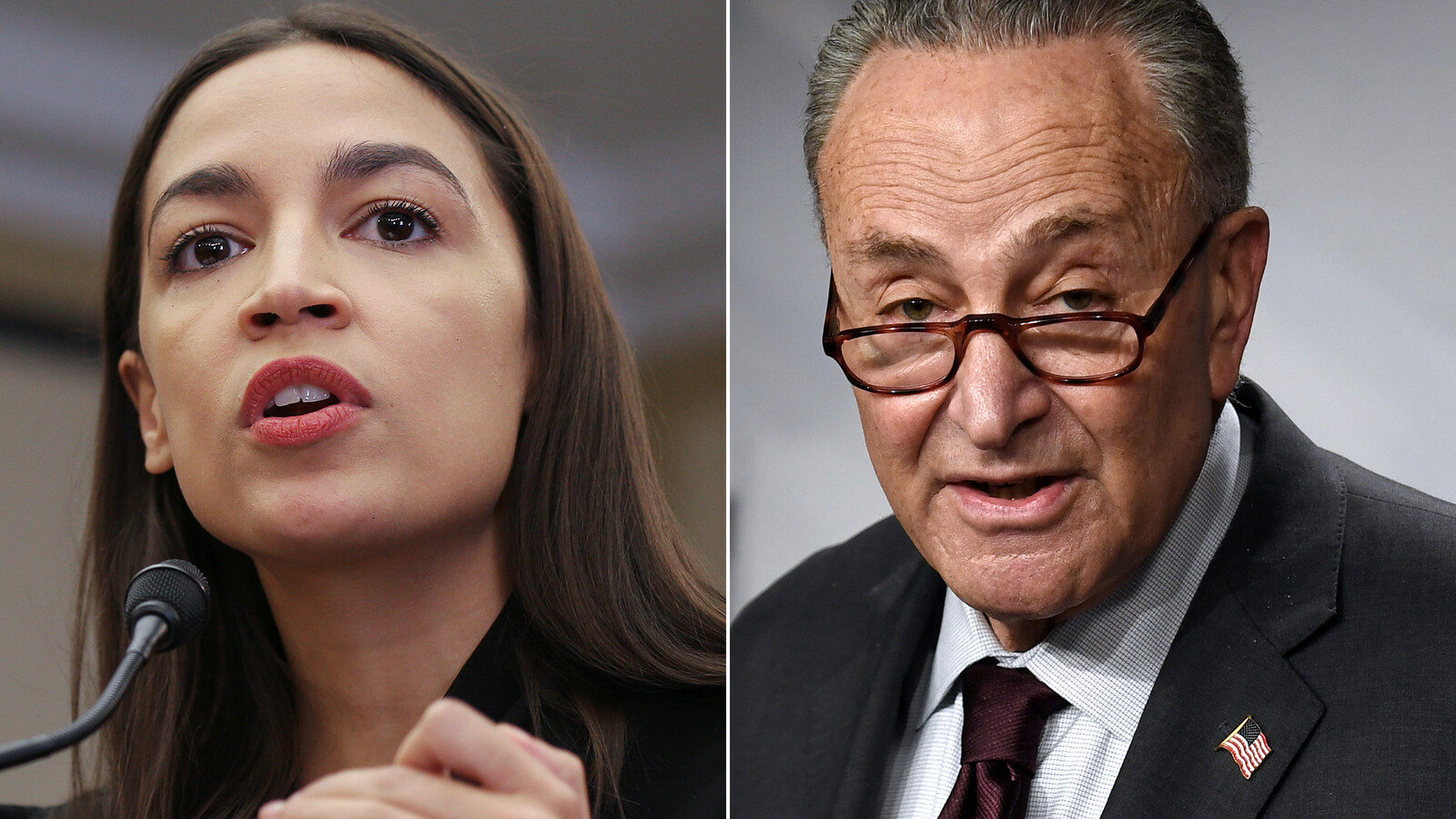 Alexandria Ocasio-Cortez does not rule out 2022 challenge to Chuck Schumer