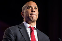 Cory Booker was asked who broke his heart. He gave an emotional response