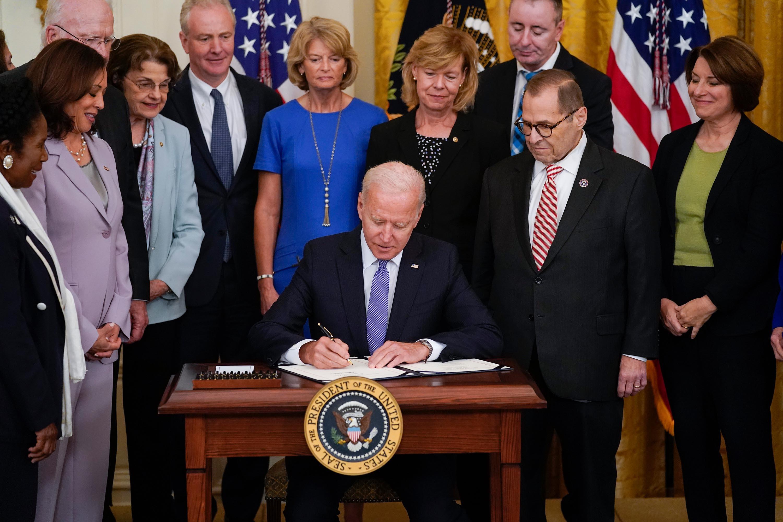 Biden signs crime victims fund replenishment bill