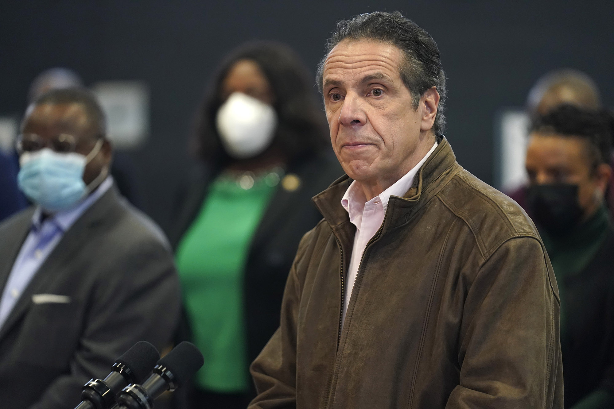 Cuomo changes plan and asks New York attorney general and chief judge to select independent lawyer to review sexual harassment claims