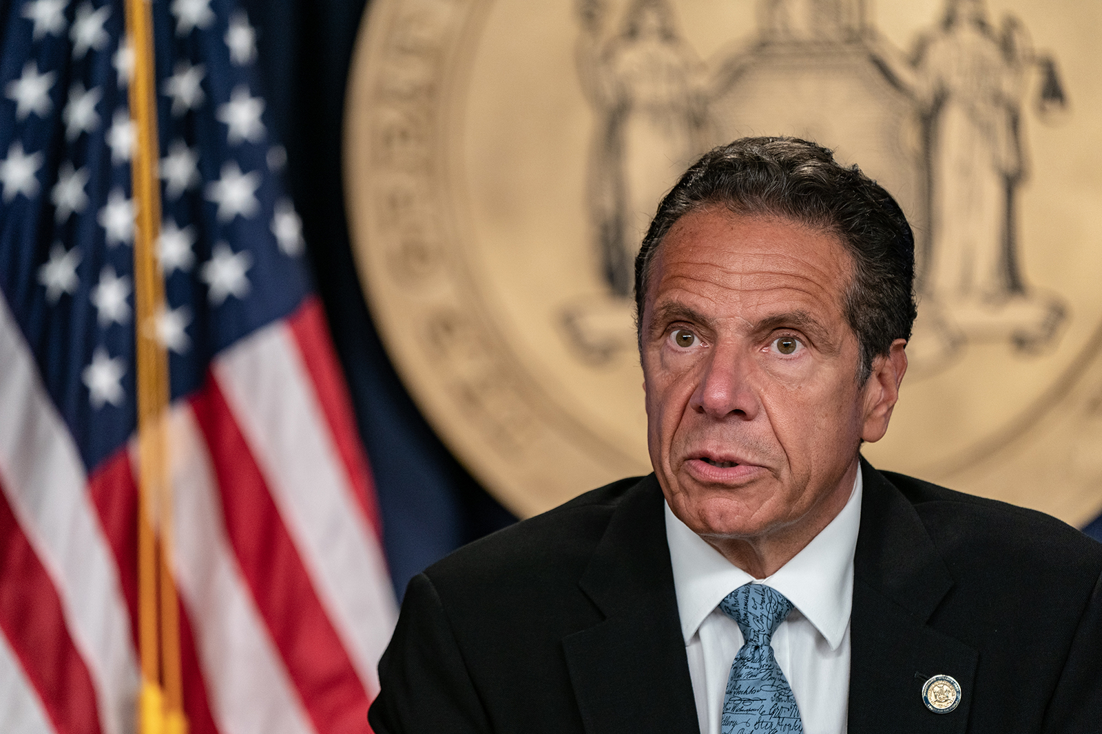 """Gov. Andrew Cuomo says SCOTUS ruling on coronavirus restrictions is essentially a statement that """"it's a different court."""""""