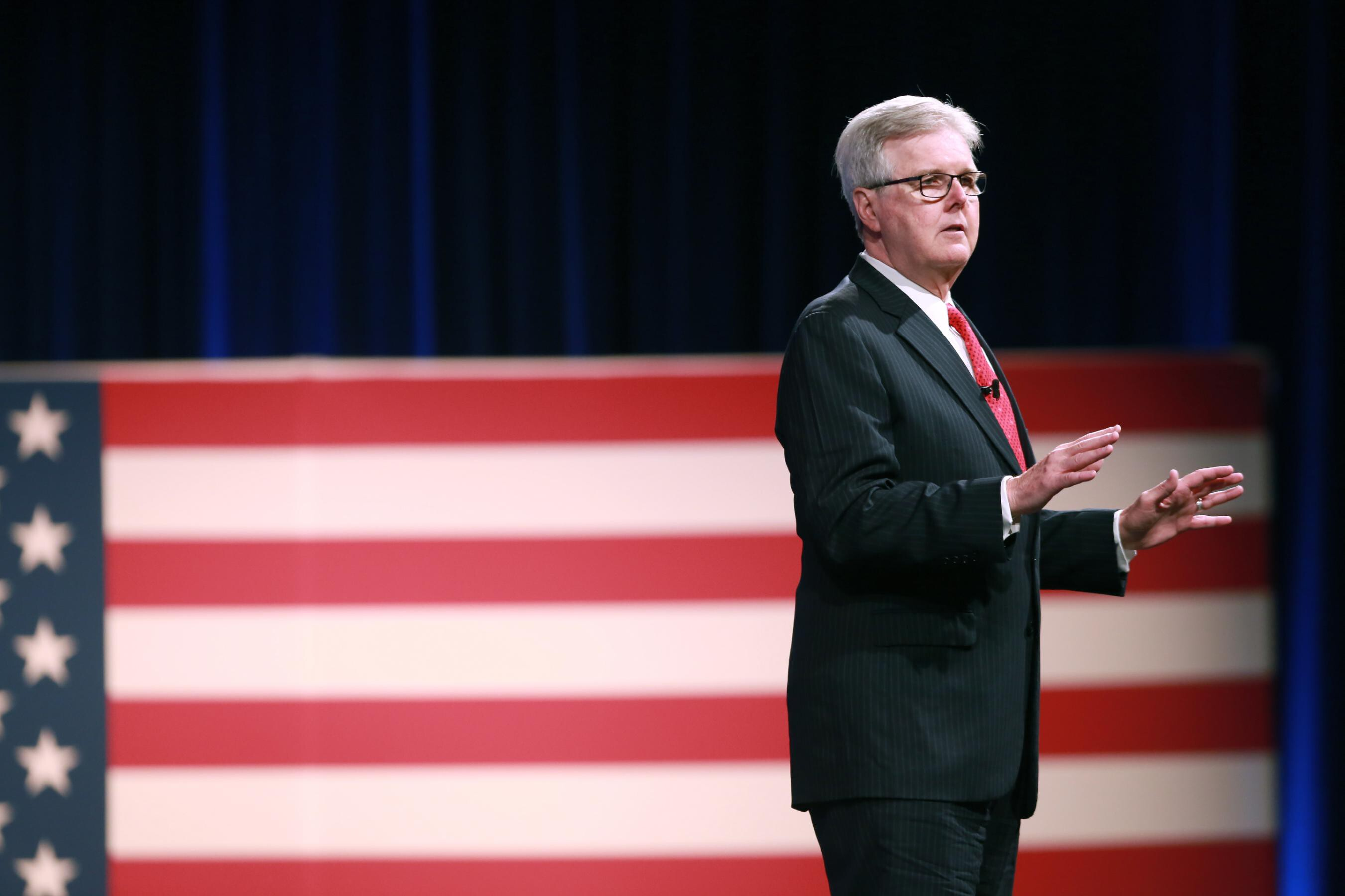 Texas Lt. Gov. Dan Patrick pays out $25,000 to Democrat for Republican voter fraud