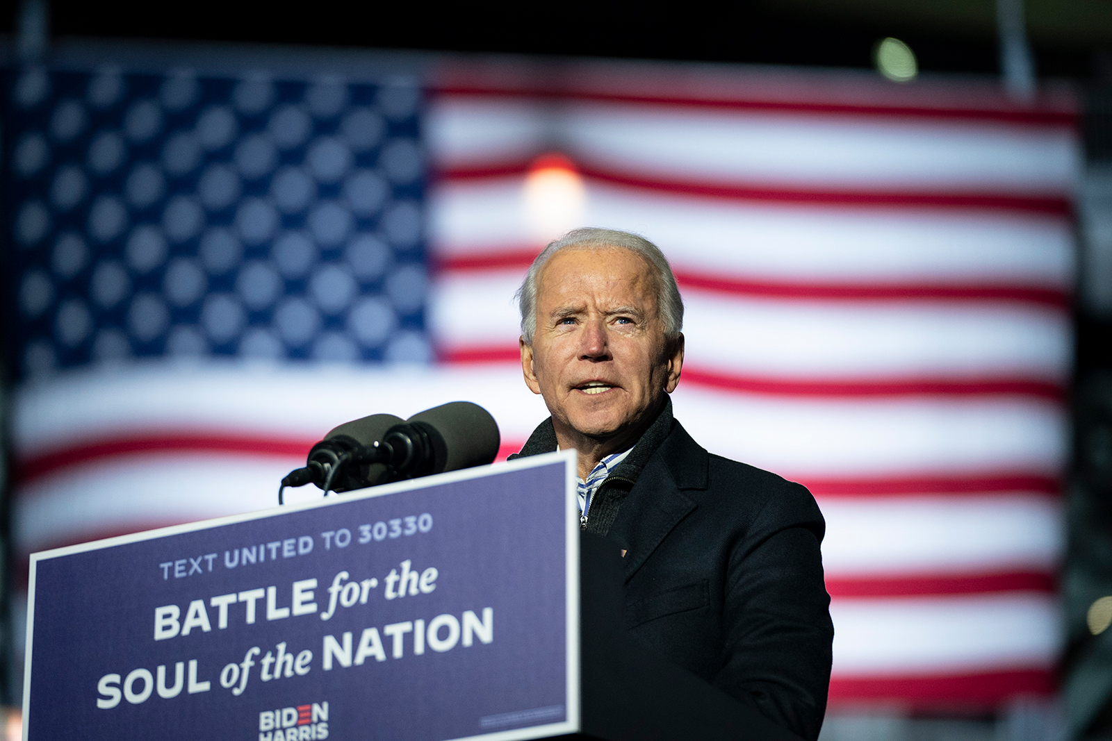 Democrats deride 'dark' money, but a new analysis shows it helped boost Joe Biden