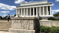 Famed DC monuments defaced after night of unrest