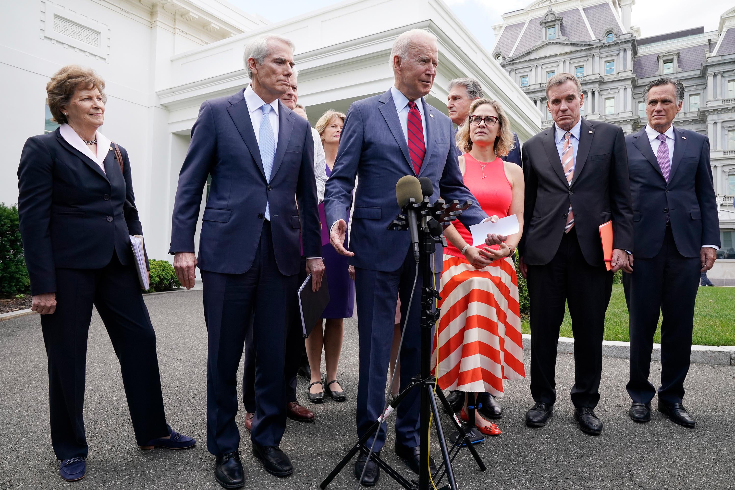 The two-track twostep: How the bipartisan infrastructure deal came together and nearly fell apart in 24 hours