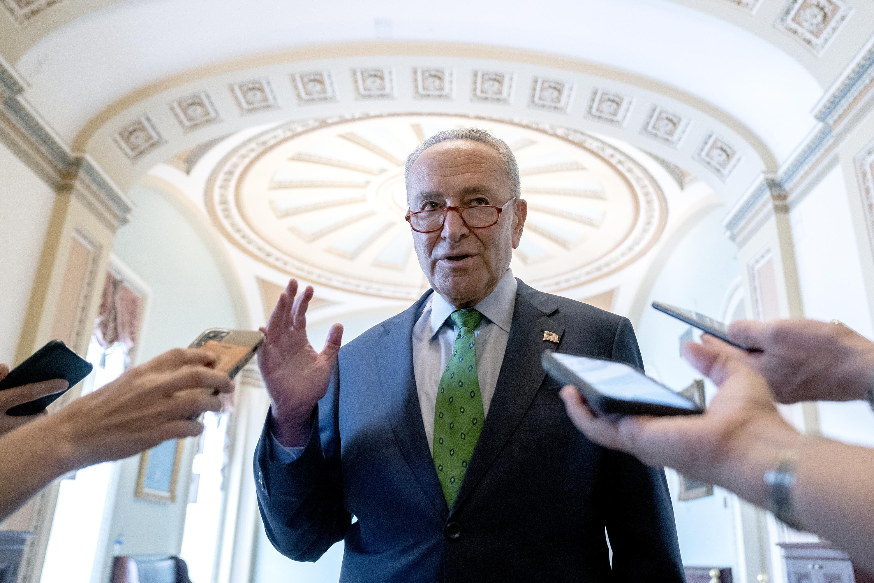 Schumer warns on debt ceiling: 'It's not too late, but it's getting dangerously close'