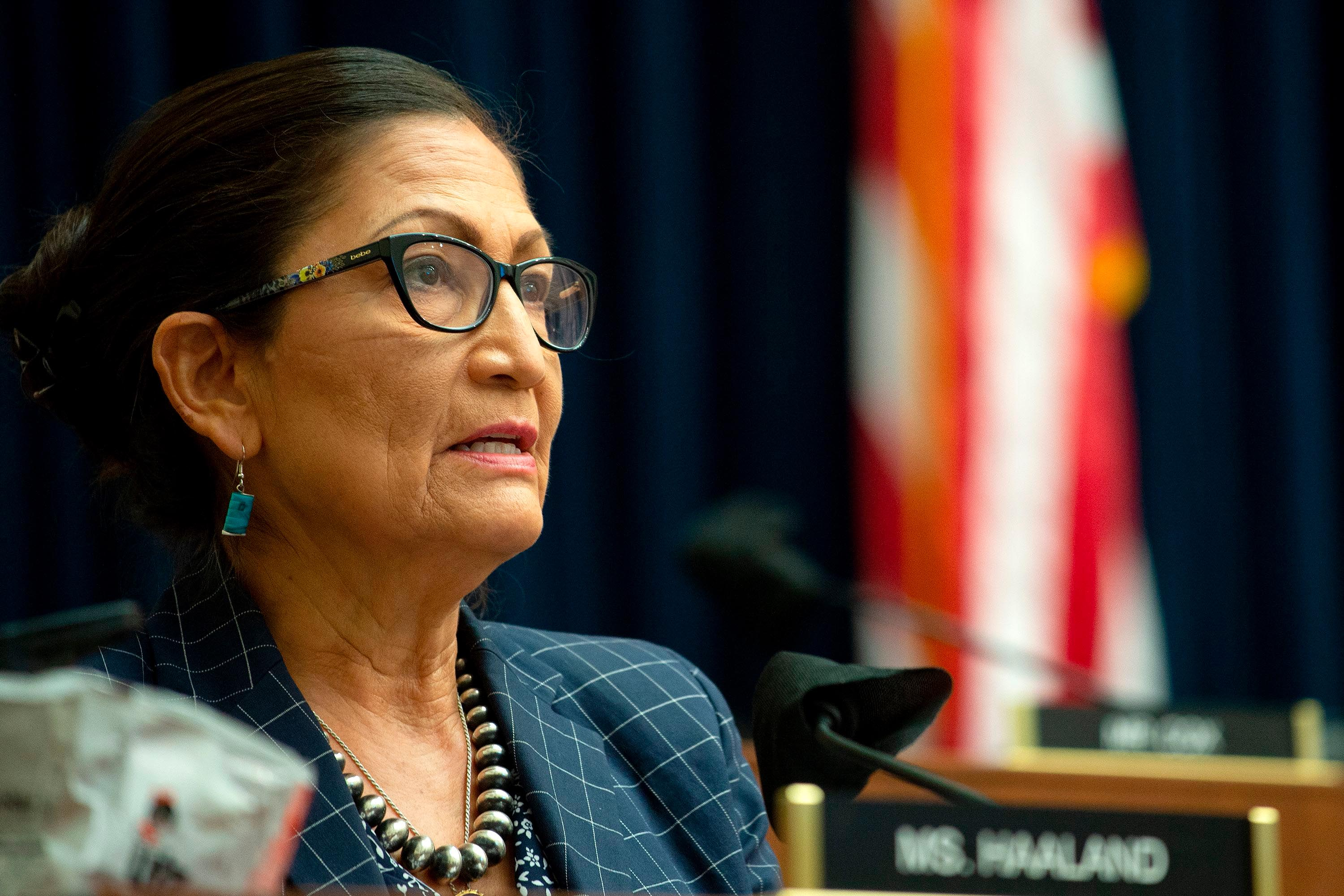 Haaland grilled over past criticism of Republicans at confirmation hearing