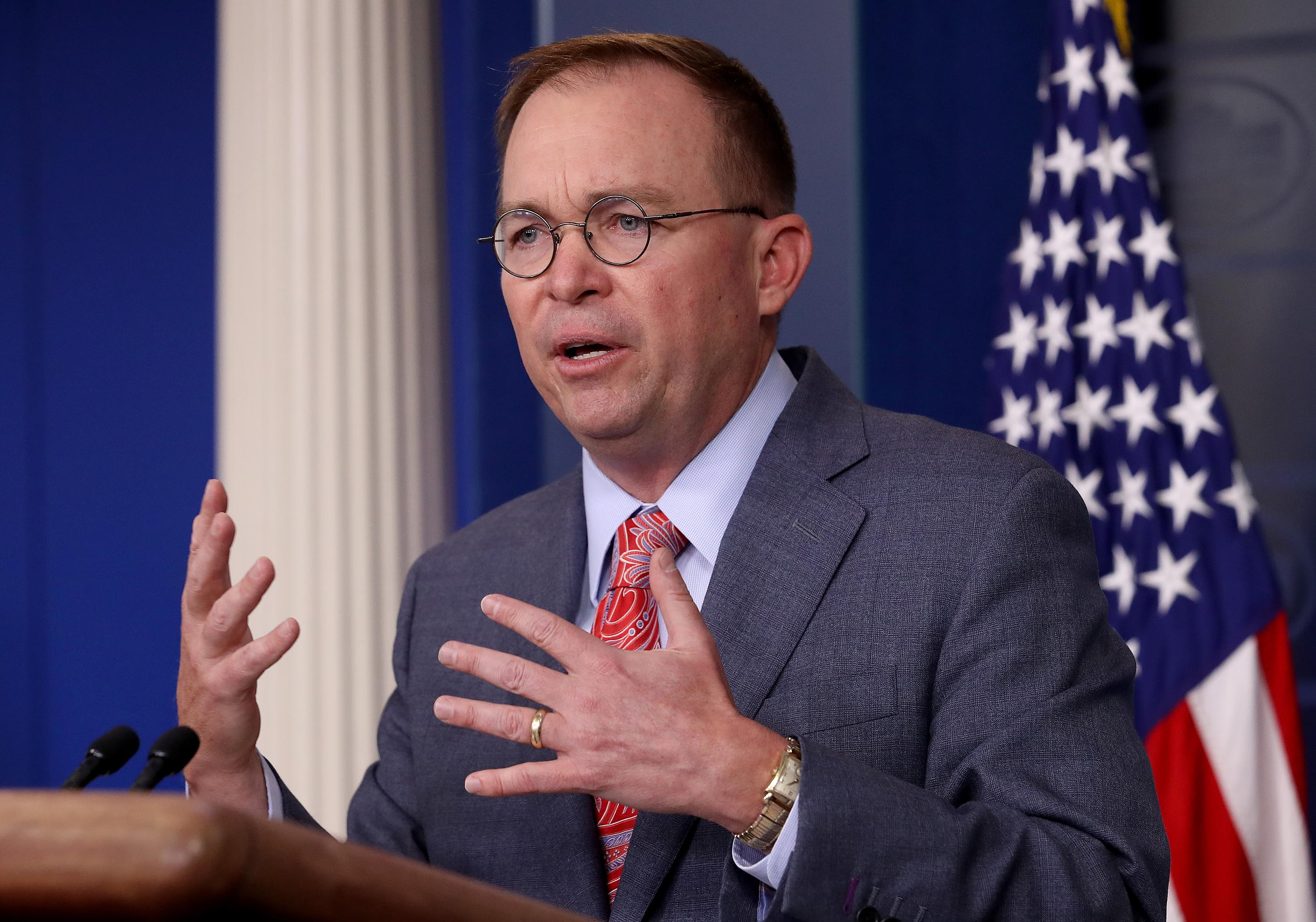 Mulvaney slams 'deep state' of government employees undermining Trump