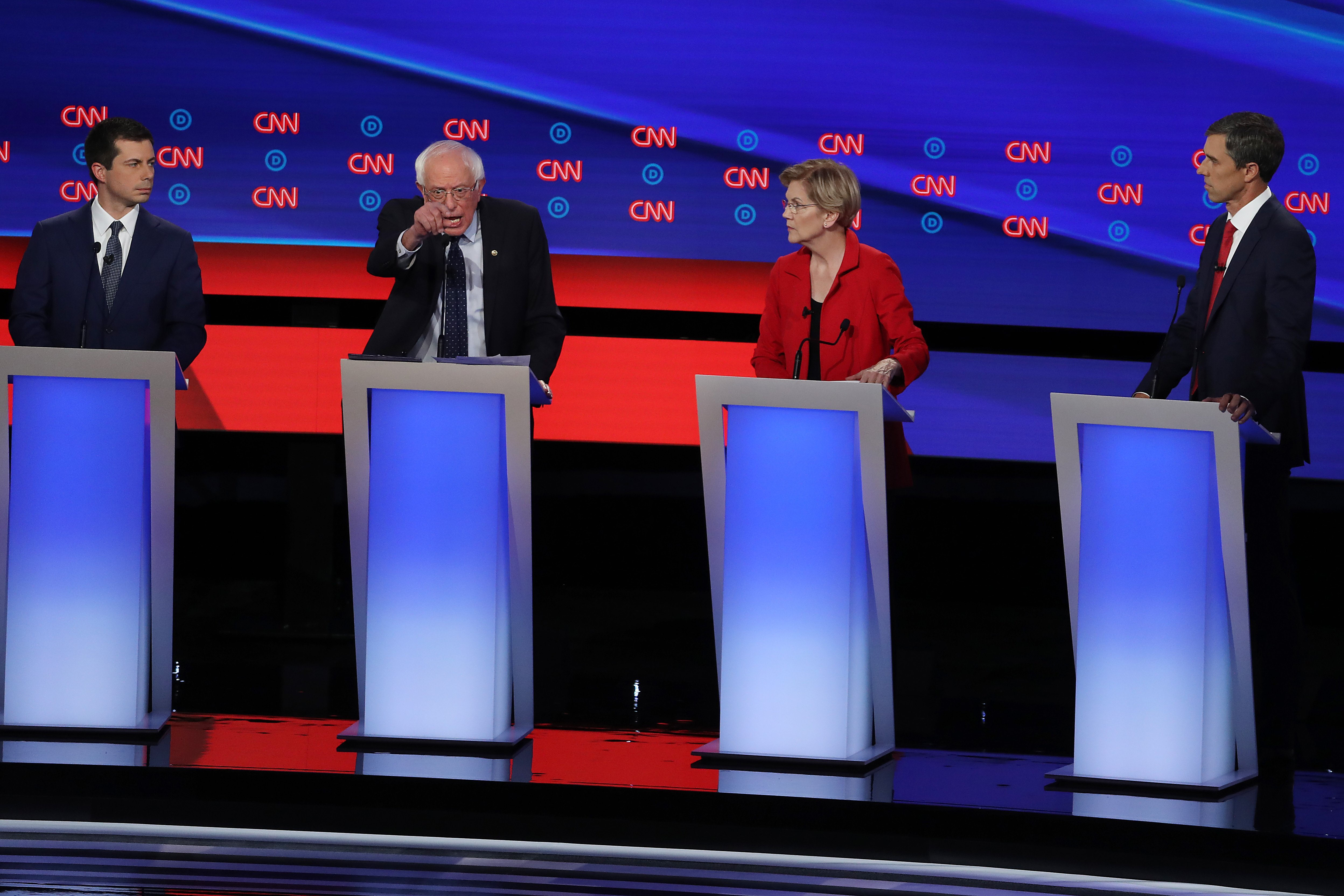 Fact check: Some Democratic presidential candidates want to ban fracking. Could they?