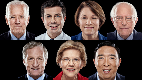 Image for 6 things to look for in the final Democratic debate of 2019