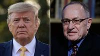 Legal scholars pan Alan Dershowitz's defense of Trump