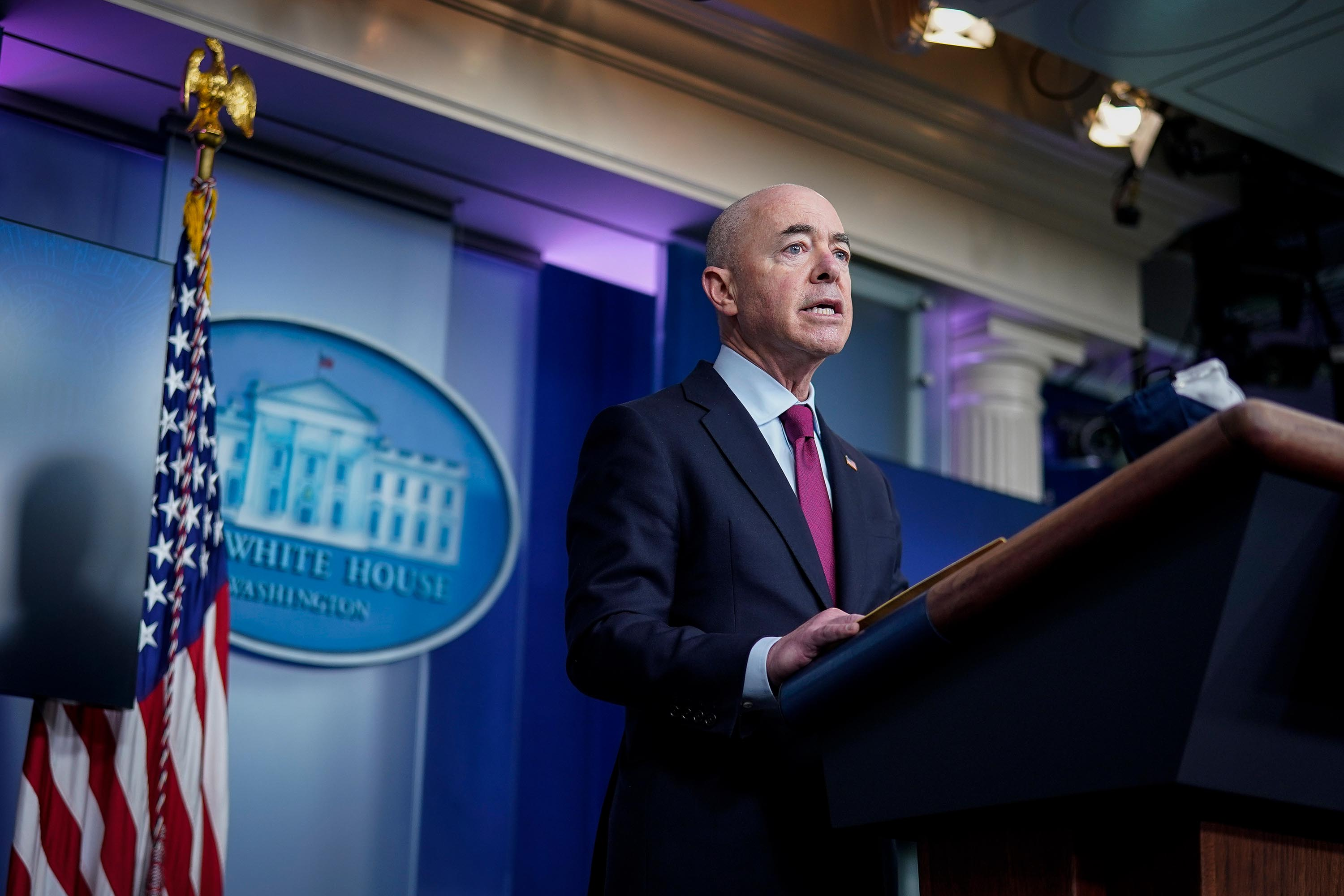 'I have visited the border,' says DHS Secretary in testy exchange over VP role