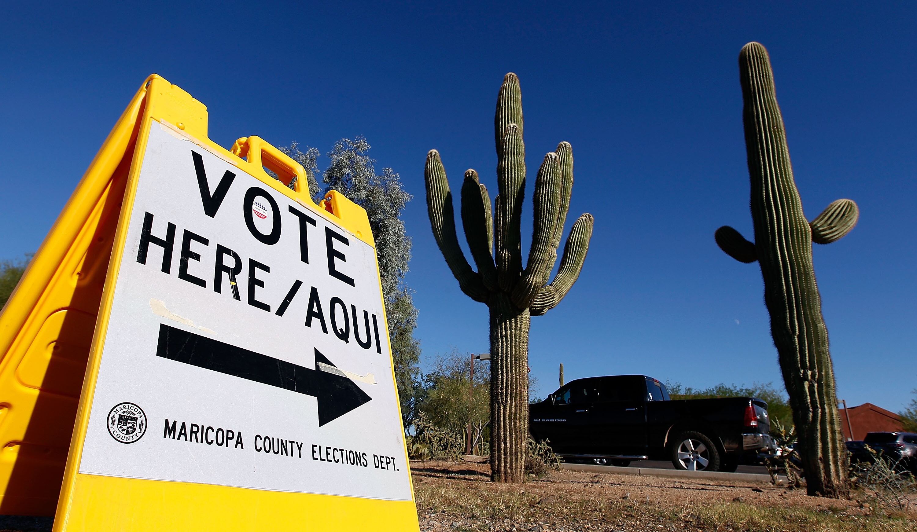 Democratic National Committee and Arizona Democrats plan to mount legal action to stop state voter purge law