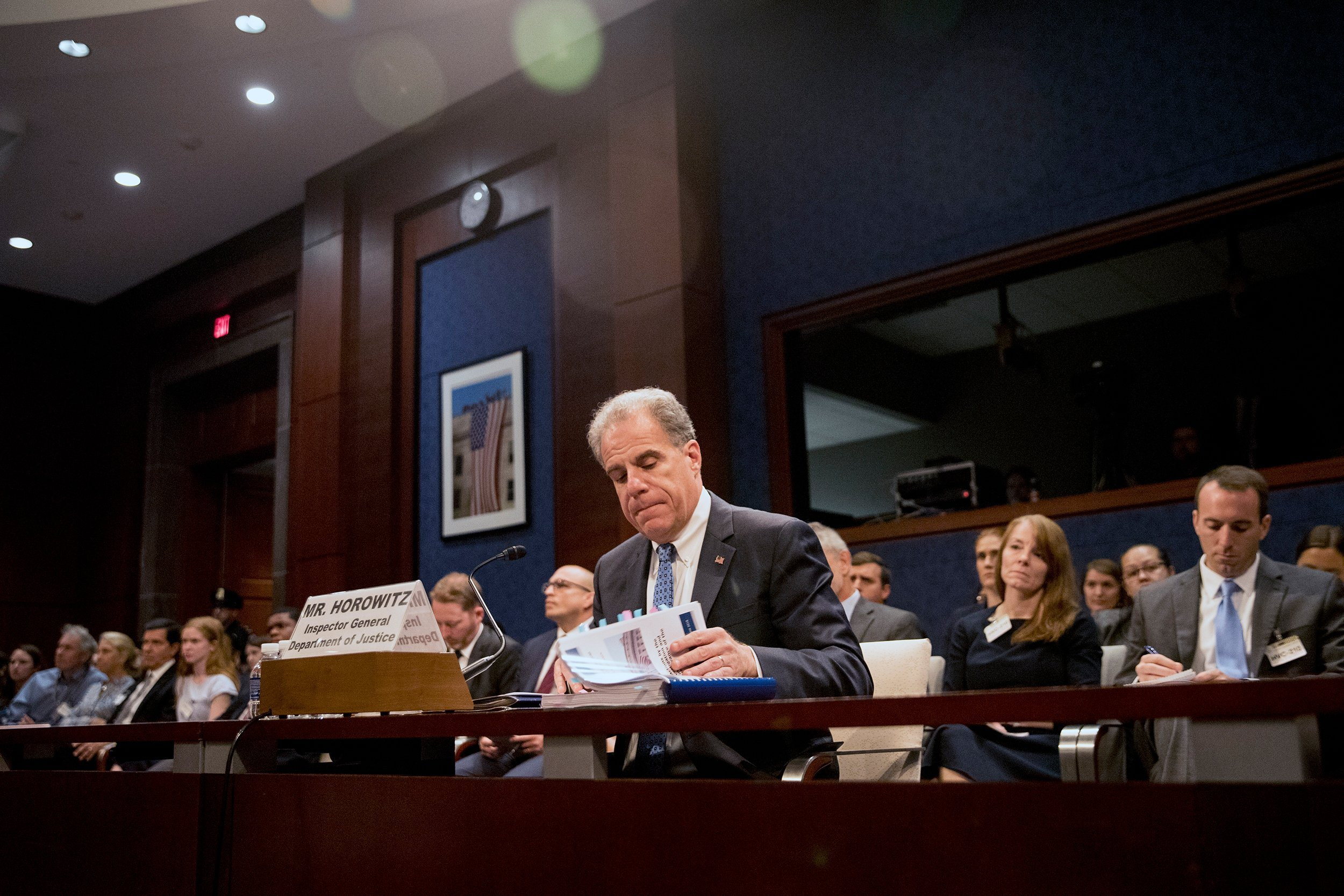DOJ inspector general scheduled to testify about Russia report
