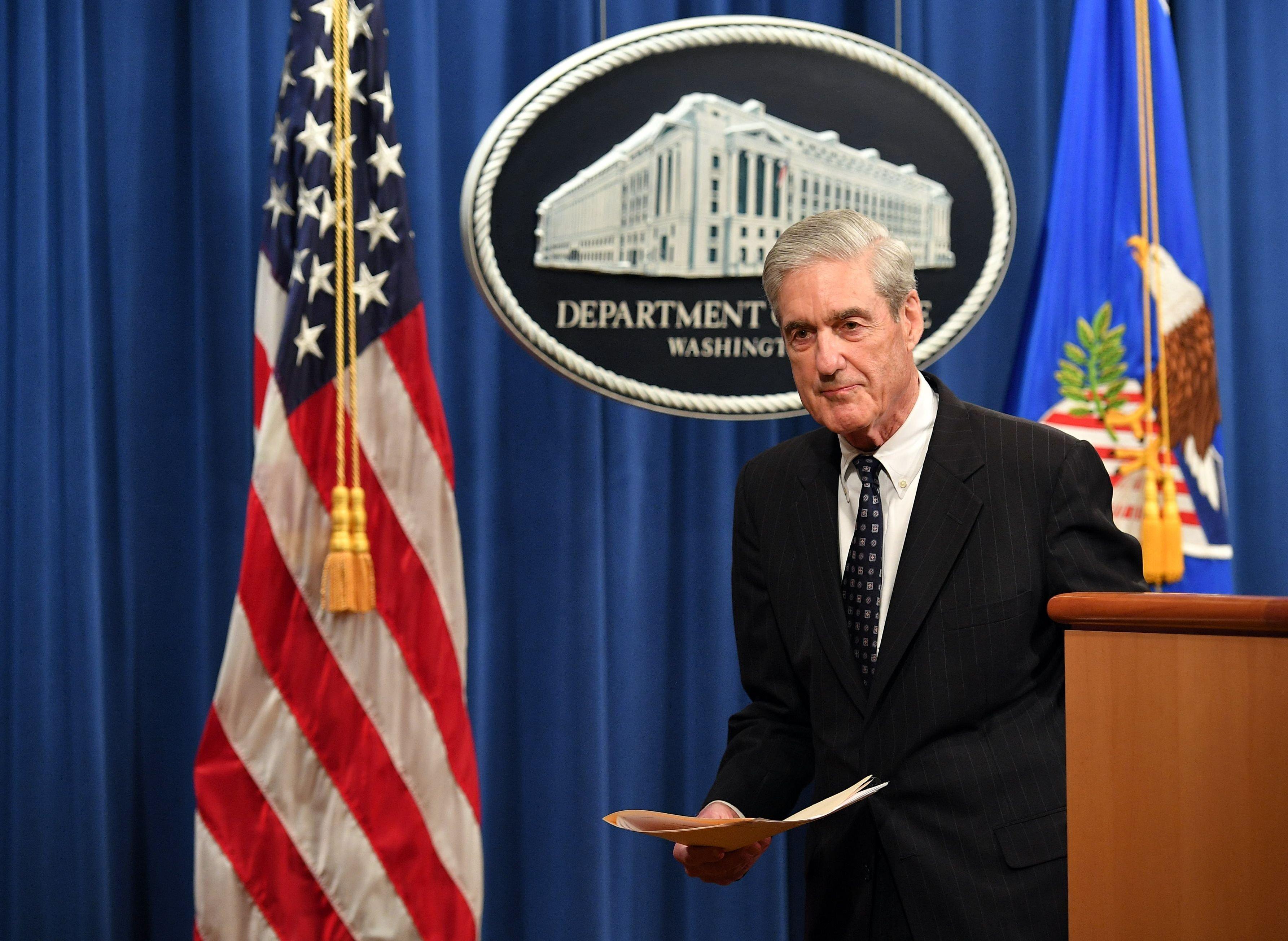 DOJ argues House lawmakers should not gain access to Mueller grand jury materials