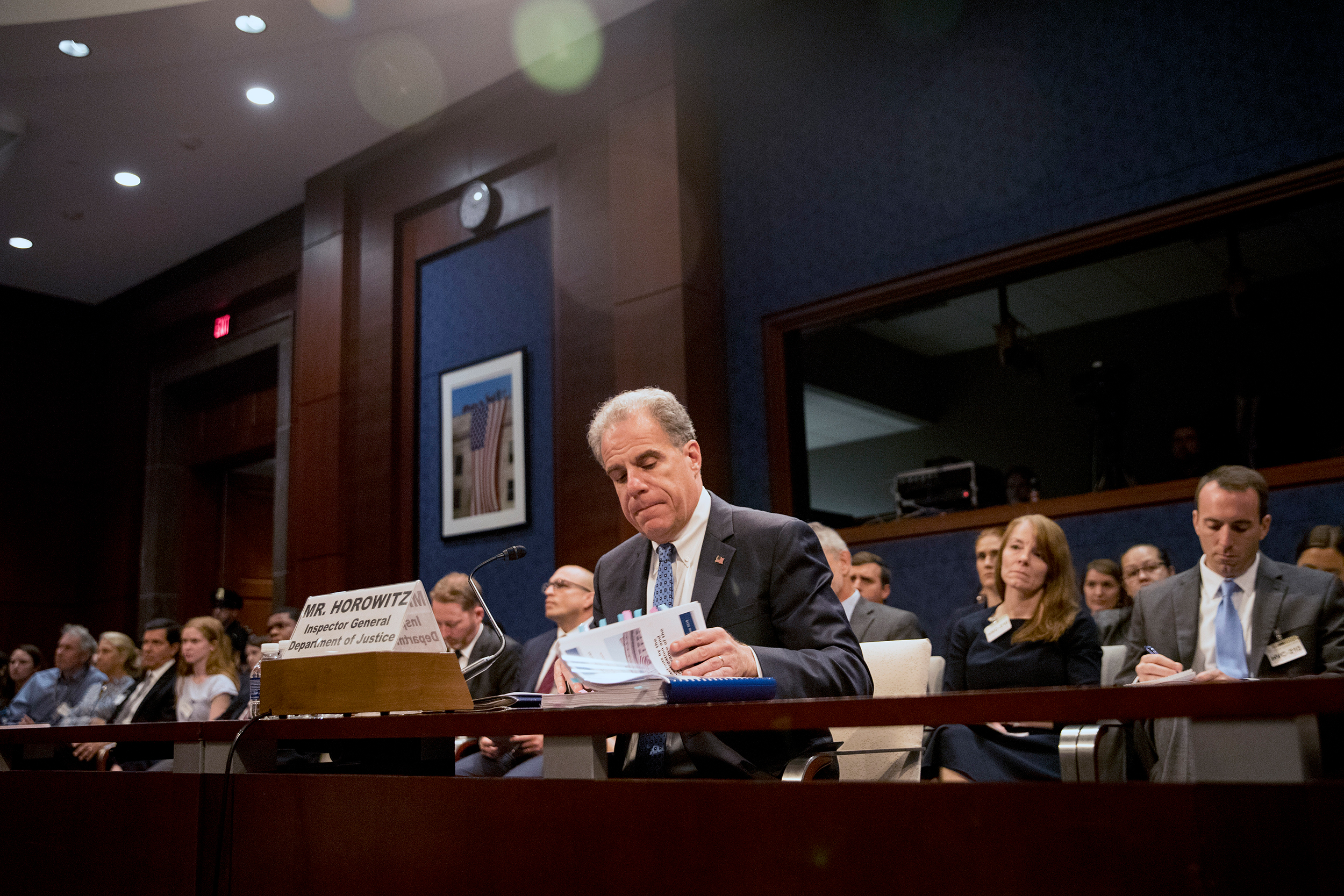 Senators to grill Justice Department watchdog as fight continues over Russia probe