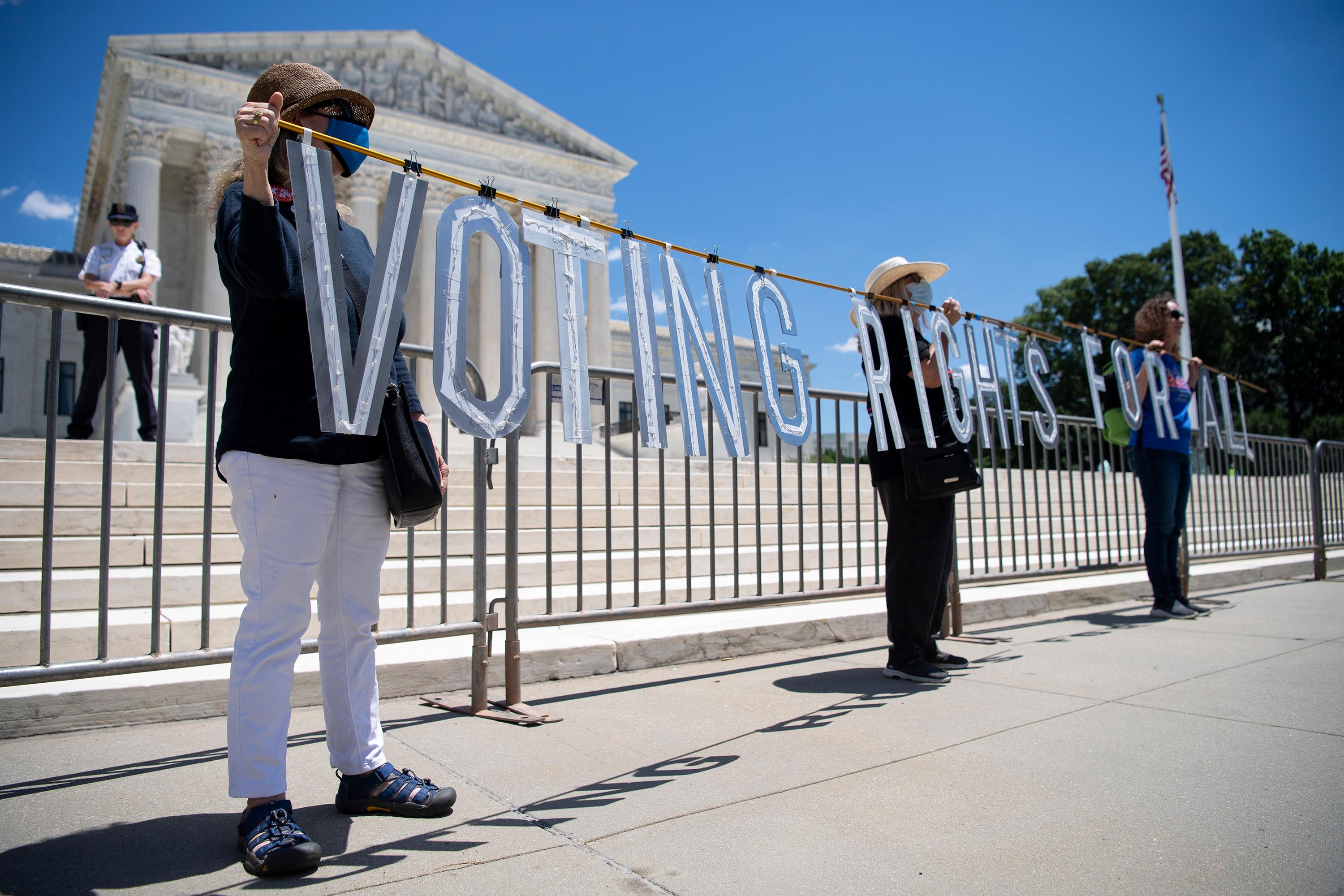 Will a pending Supreme Court case doom DOJ's voting rights lawsuit before it begins?