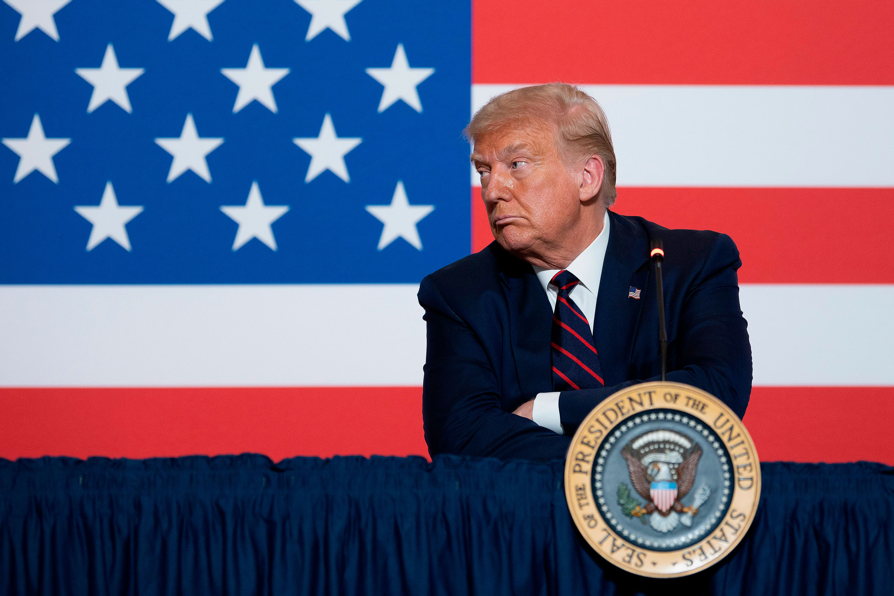 'Nobody likes me,' Trump complains, as even his allies fade