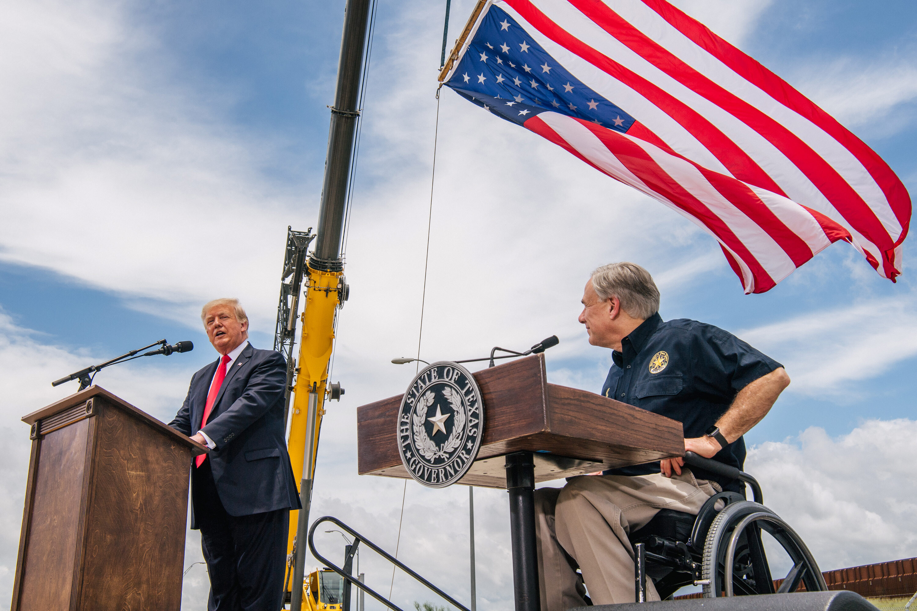 Donald Trump ratchets up demands on Gov. Greg Abbott to review Texas election results