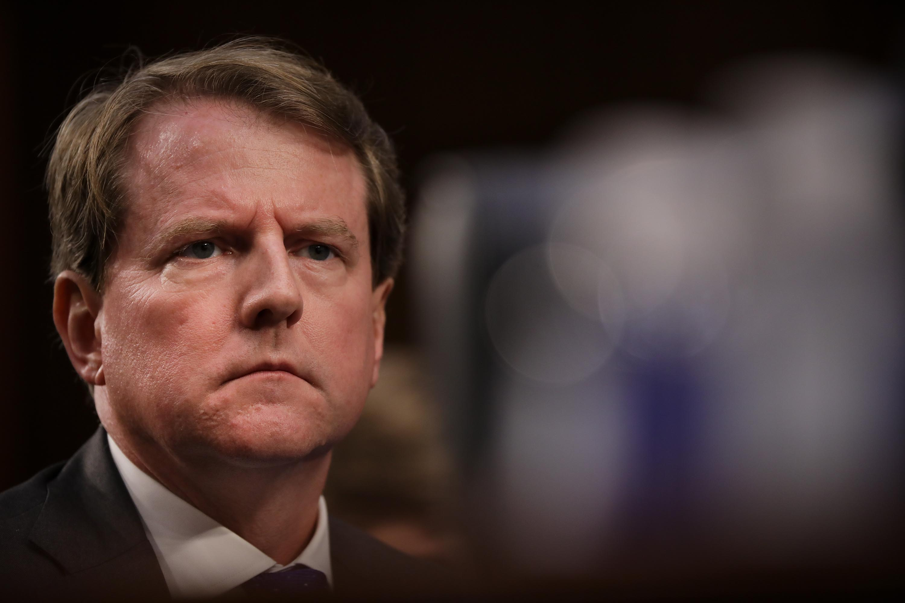 Apple informed former White House counsel Don McGahn and wife that their records were sought by DOJ in 2018