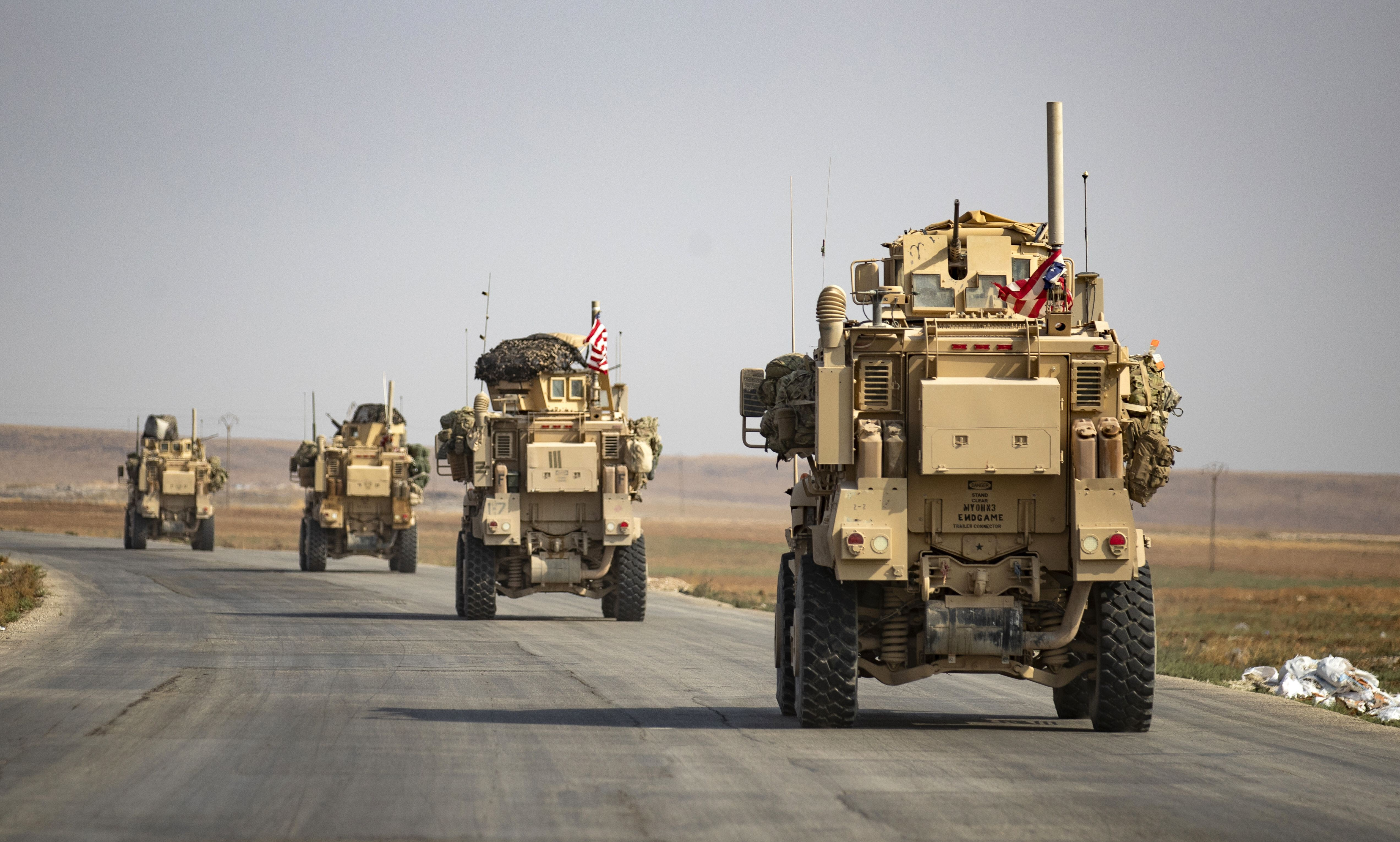 Drone attack targets US troops at US base in Syria, initial assessment suggests no US injuries