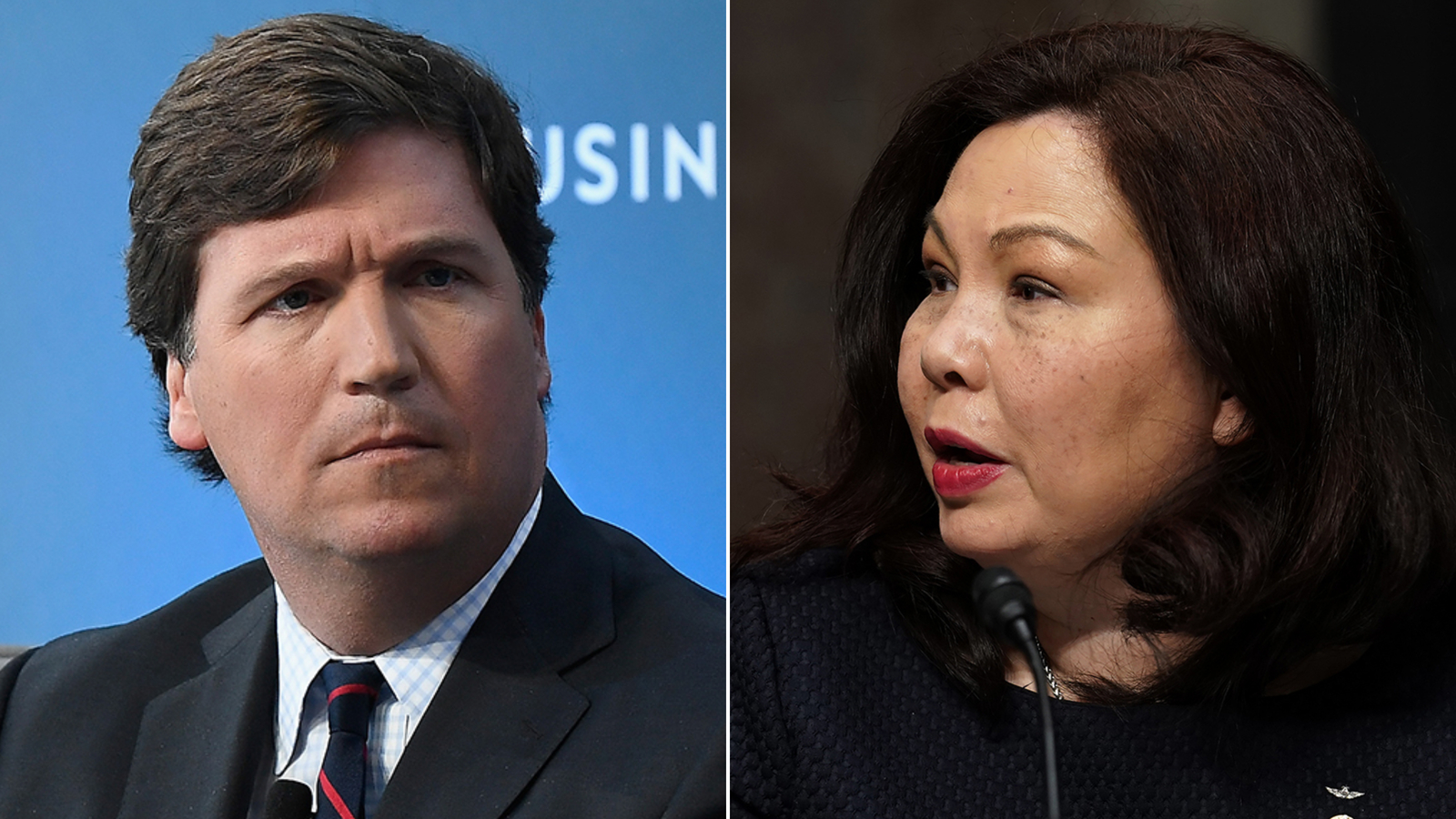 Tammy Duckworth hits back at Trump and Carlson: 'These titanium legs don't buckle'