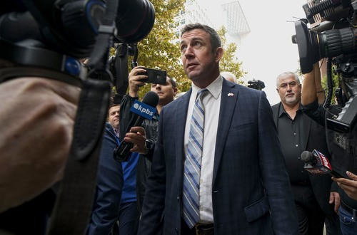 Image for Duncan Hunter says he'll resign after holidays following guilty plea over misusing campaign funds