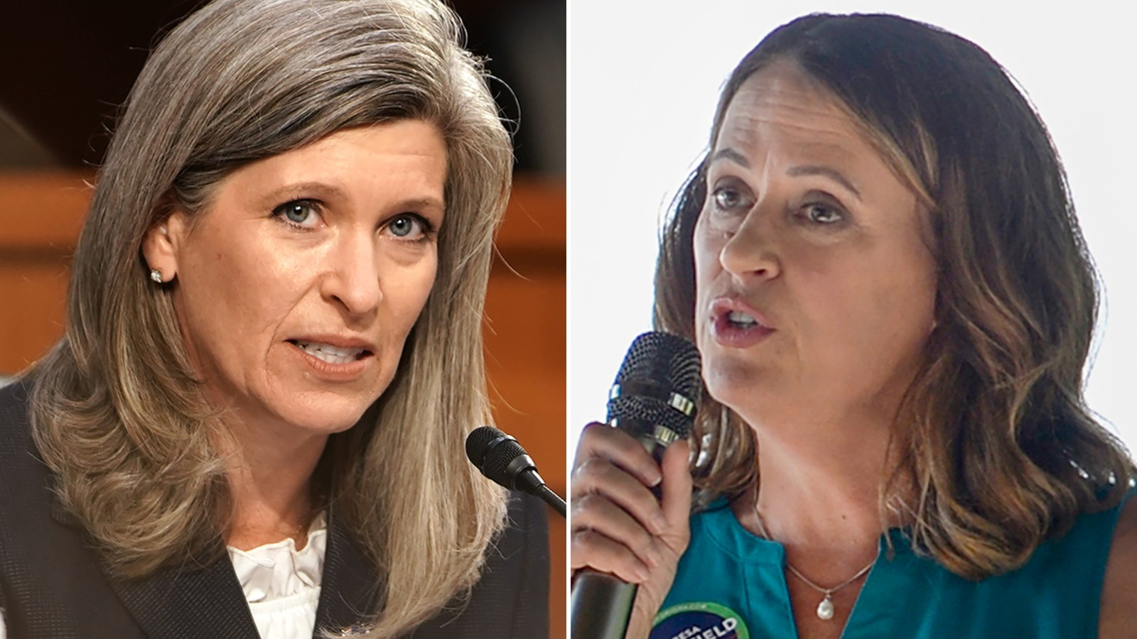 Soybean question at debate spotlights Senate challenge facing Ernst in Iowa