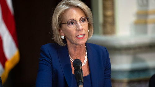 Image for DeVos finalizes regulations that give more rights to those accused of sexual assault on college campuses