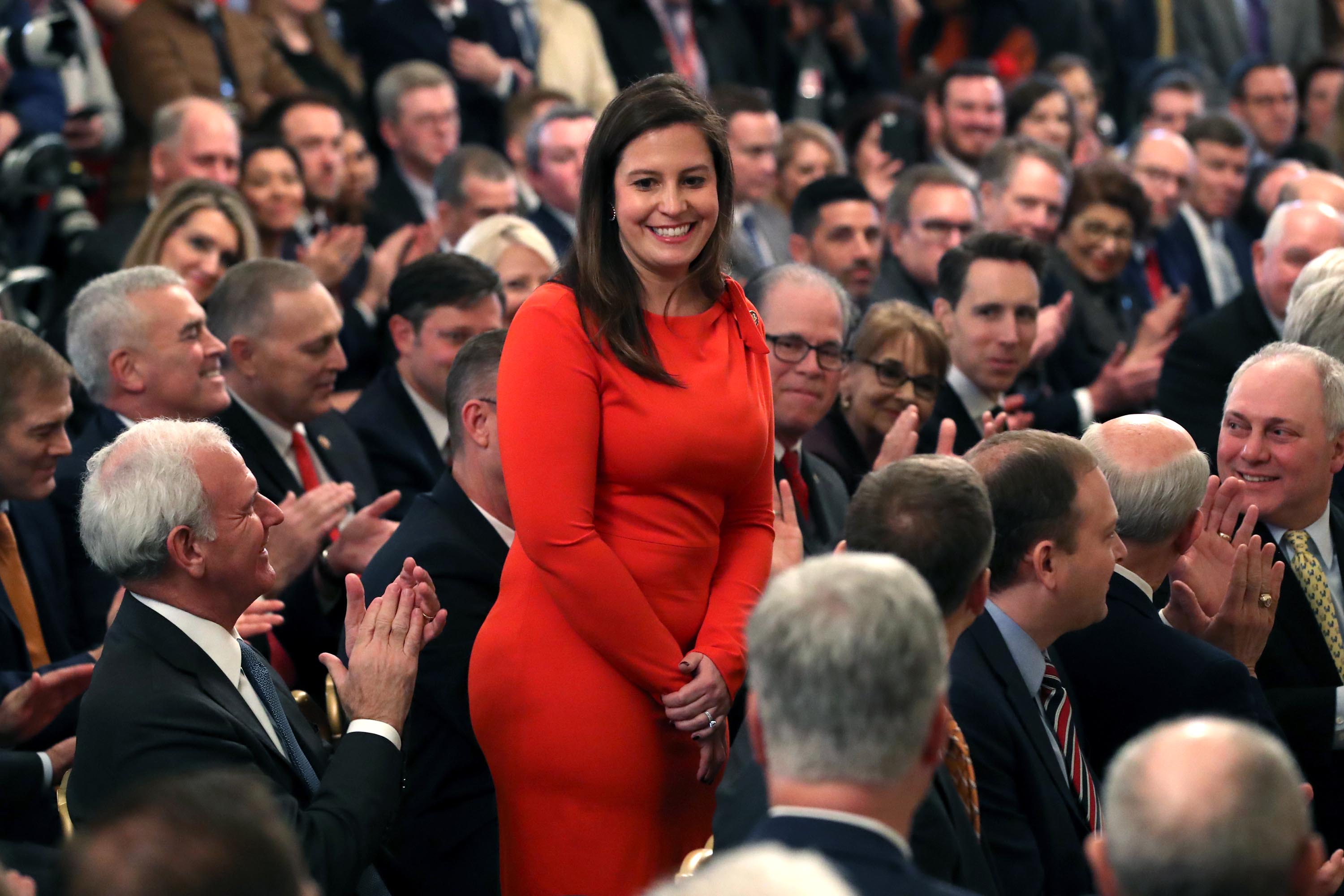 Elise Stefanik's rapid rise as Trump supporter highlights the Trump takeover of the GOP