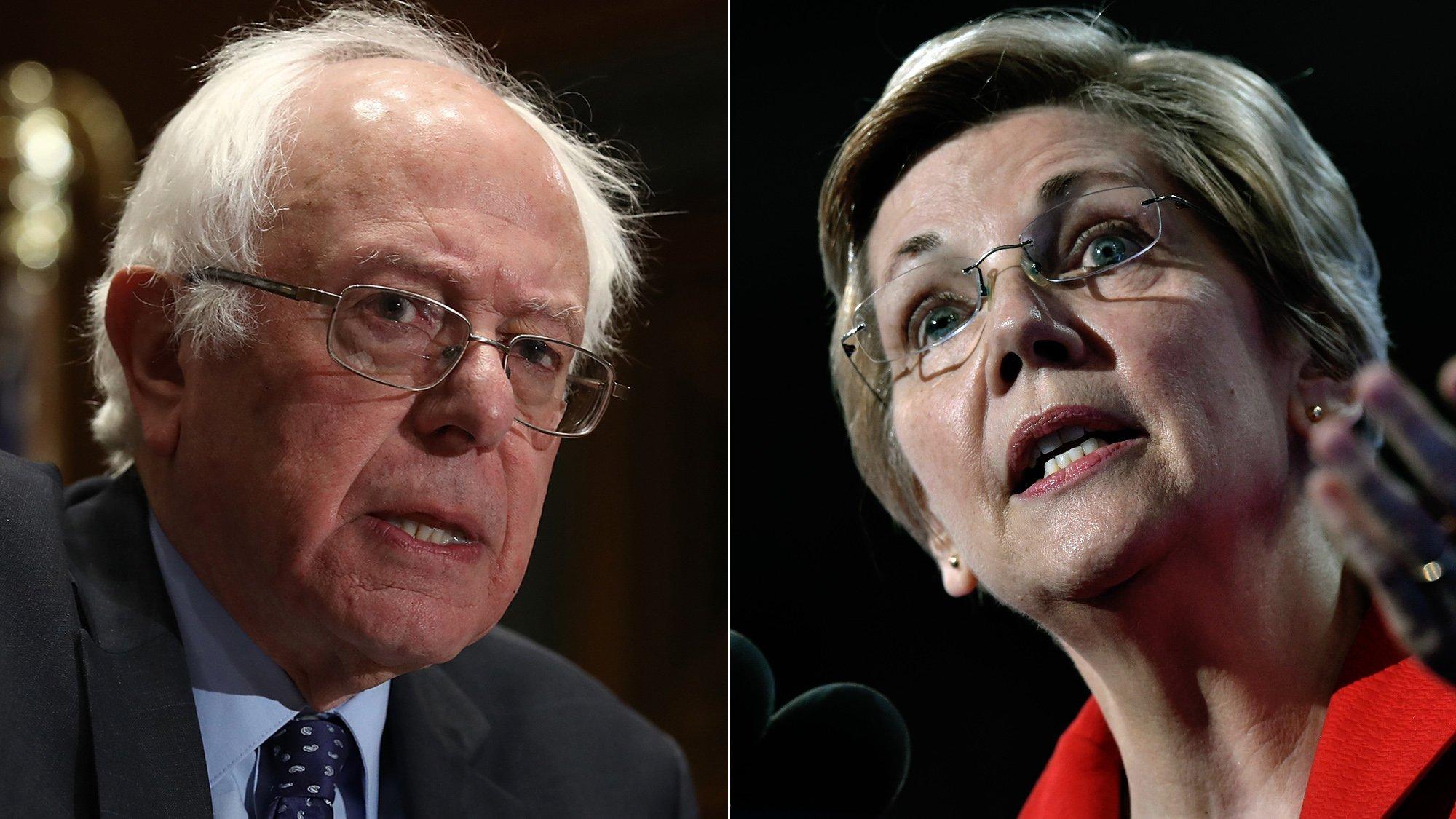 Elizabeth Warren and Bernie Sanders are building very different progressive coalitions
