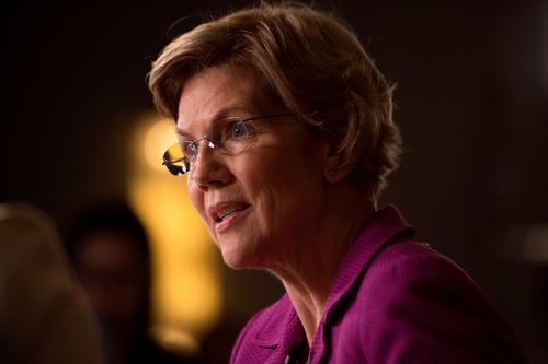 Image for Warren asks CDC to mandate masks, citing Georgia's local ban