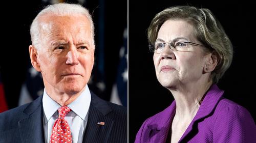 Image for Democrats see Warren as rising VP contender as coronavirus reshuffles 2020 race
