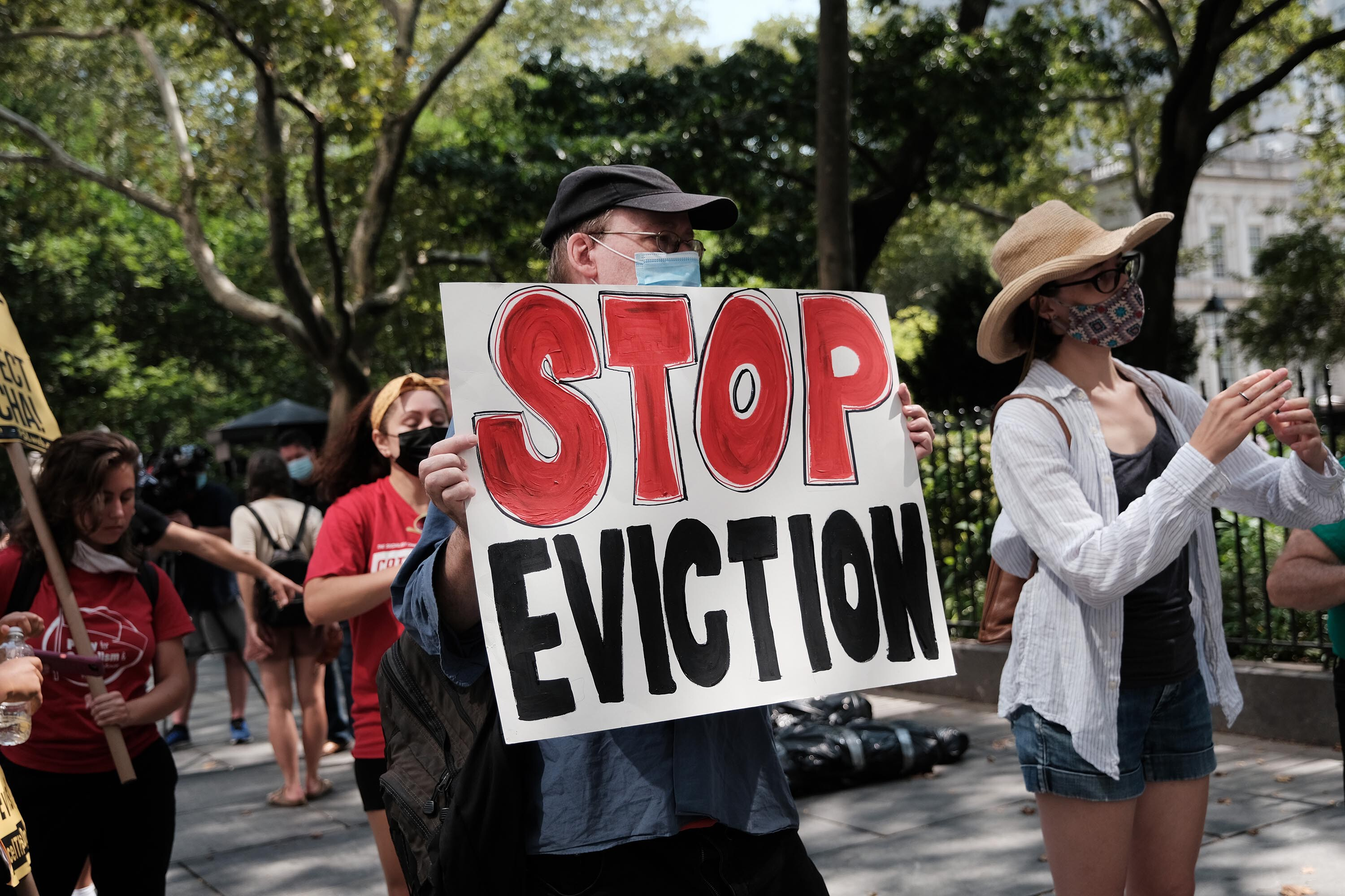 Biden's new eviction moratorium can remain in place for now, judge rules