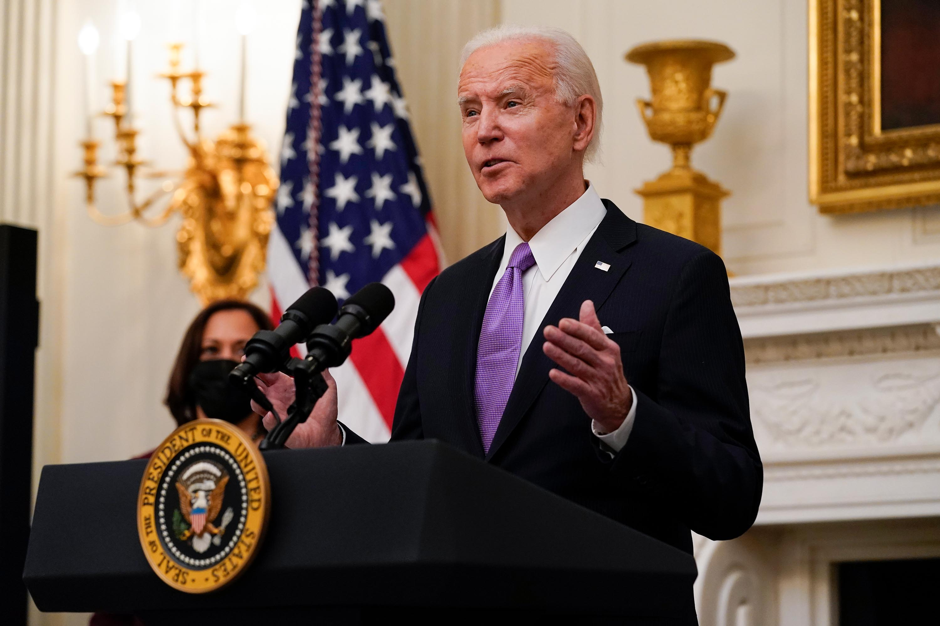 Fact check: Biden falsely claims journalists had all said his vaccination goal was impossible to meet