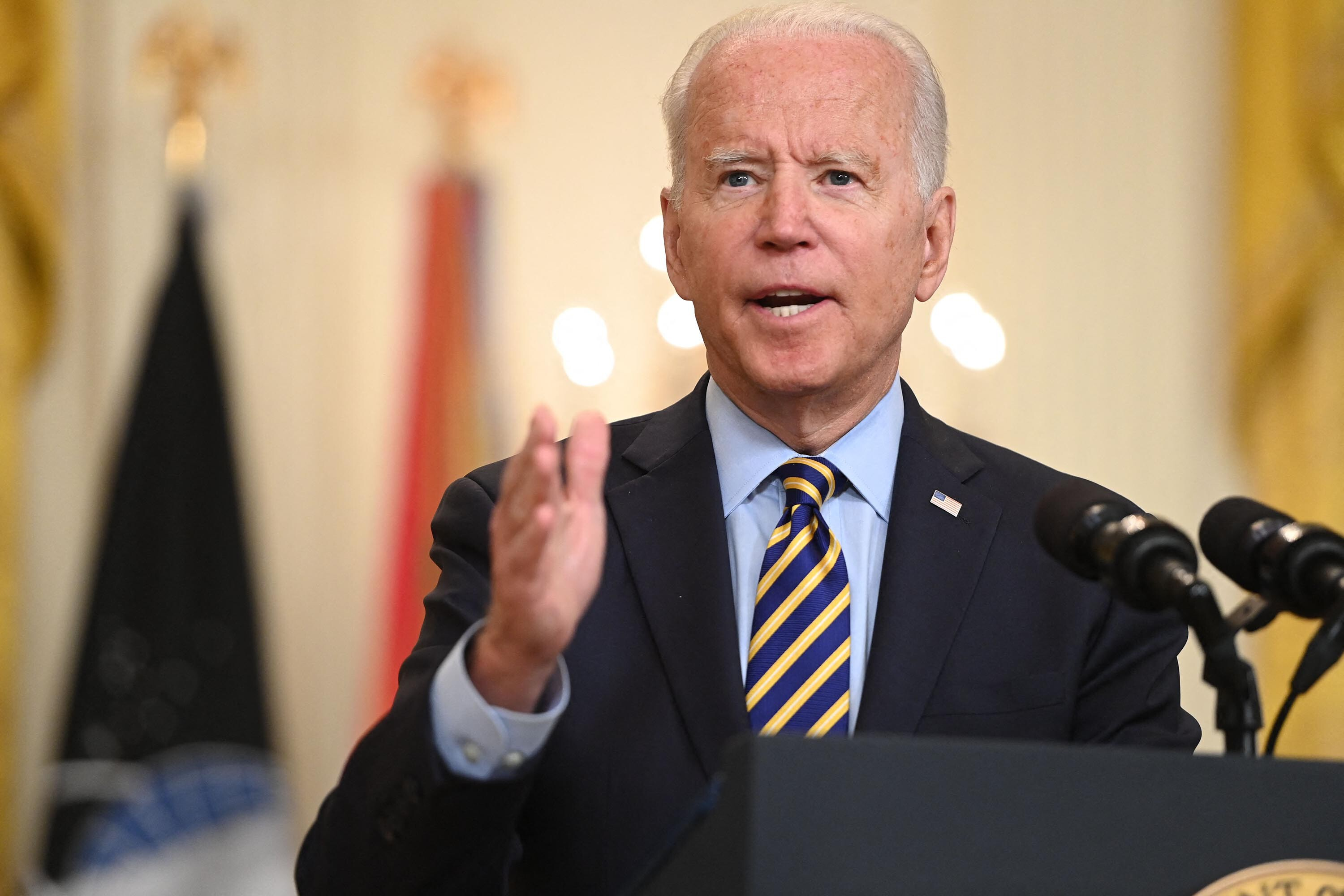 Fact check: Biden's dubious claim that 'the law doesn't allow' Afghan translators to be evacuated to US while they wait for visas