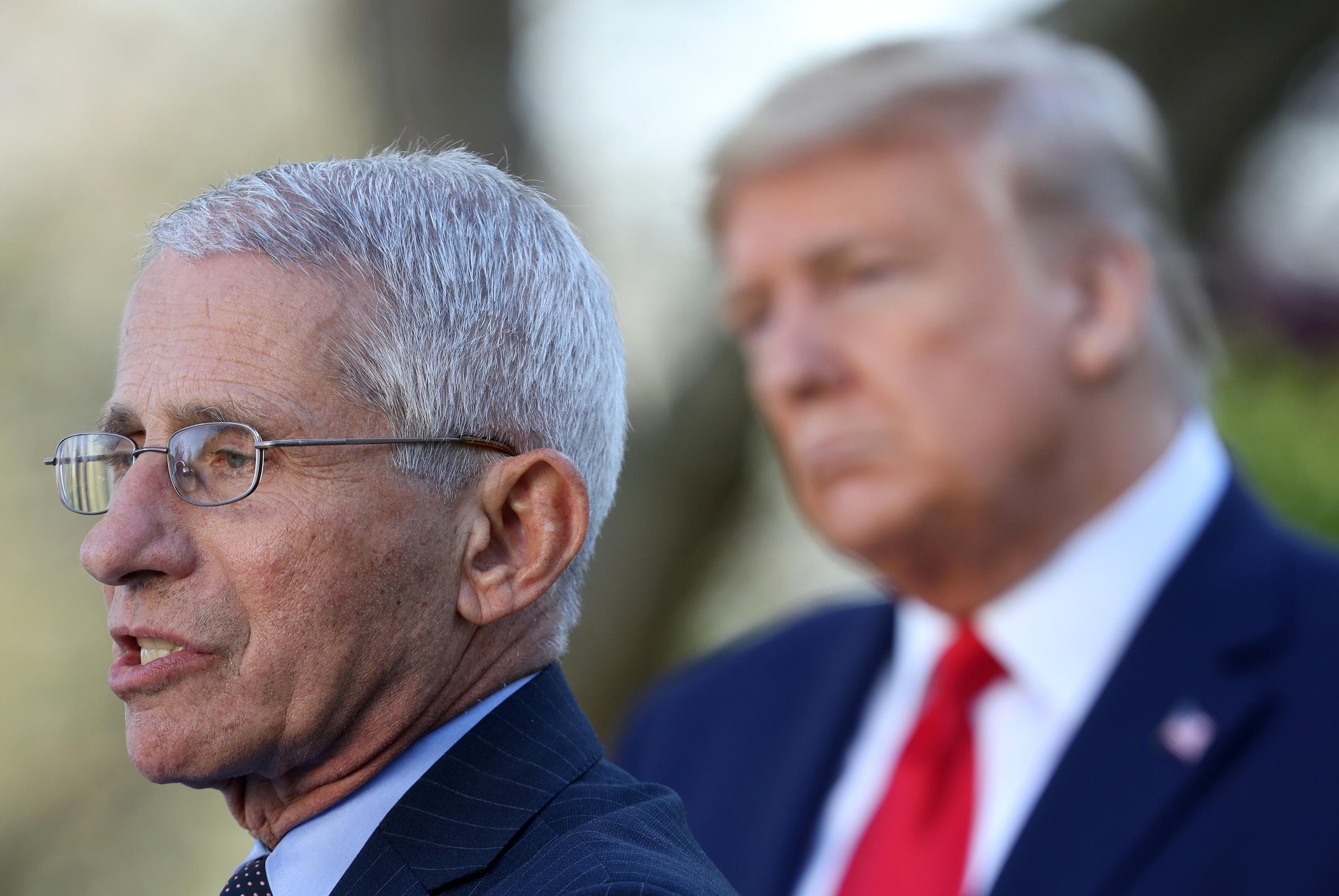 Fauci spat illustrates what some fear is a directionless White House
