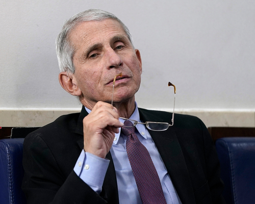 Image for Fauci to begin 'modified quarantine'