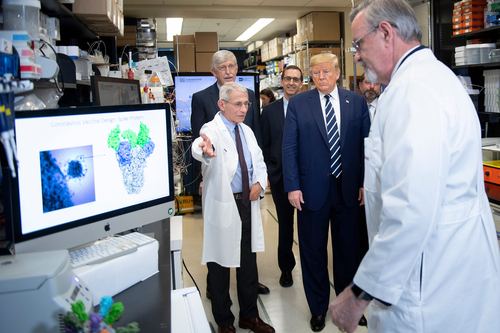 Image for States and White House consider disaster declaration to deal with coronavirus outbreak