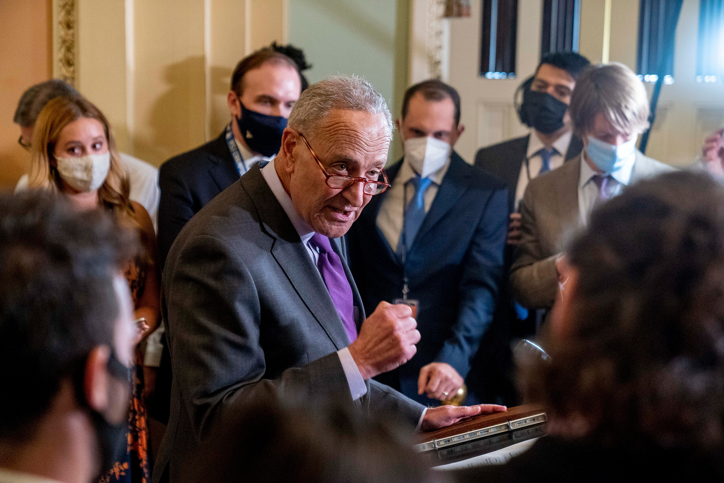 Democrats are serious about potentially changing Senate filibuster rules to avoid default