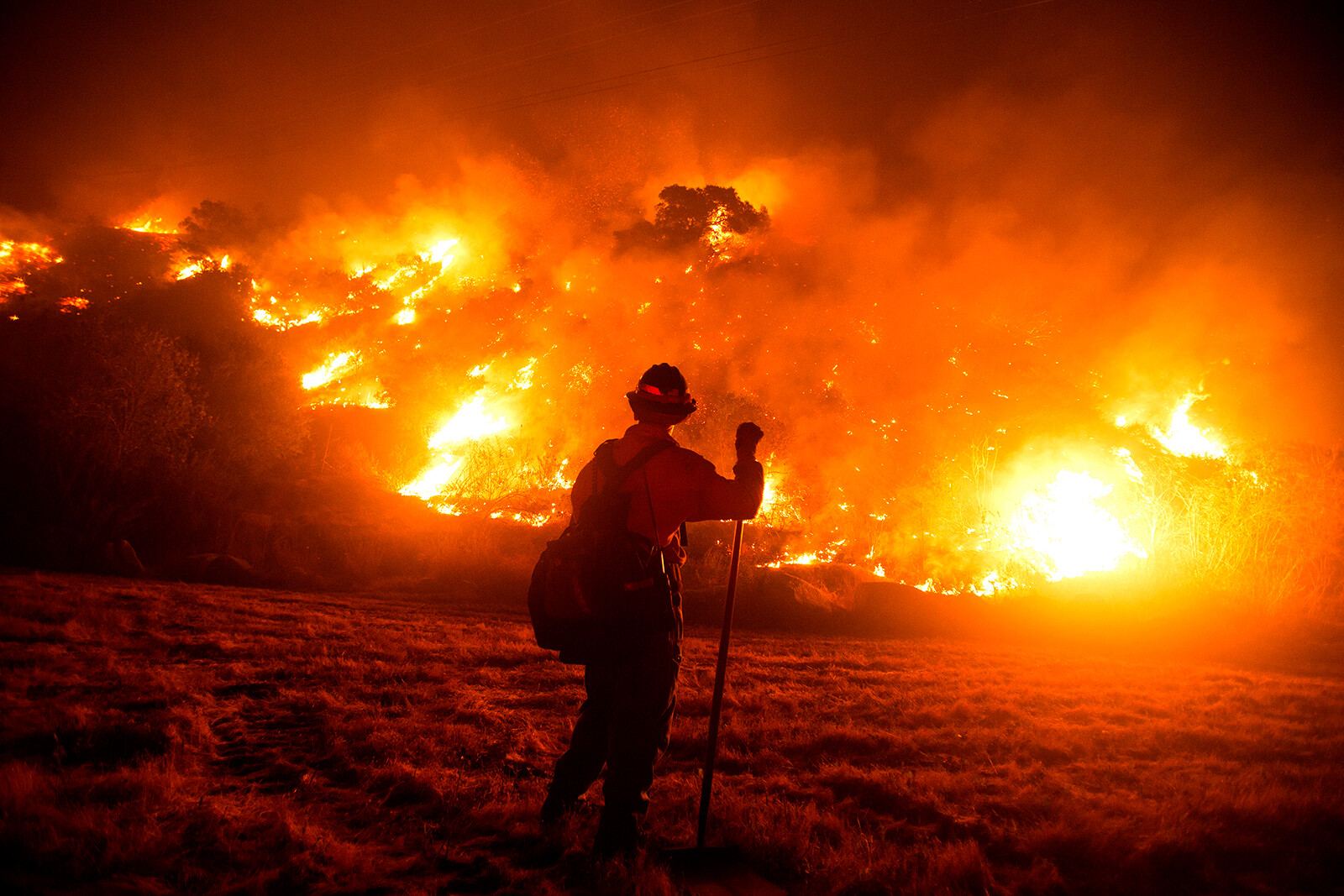 Wildland firefighters could get $20,000 raise from infrastructure bill