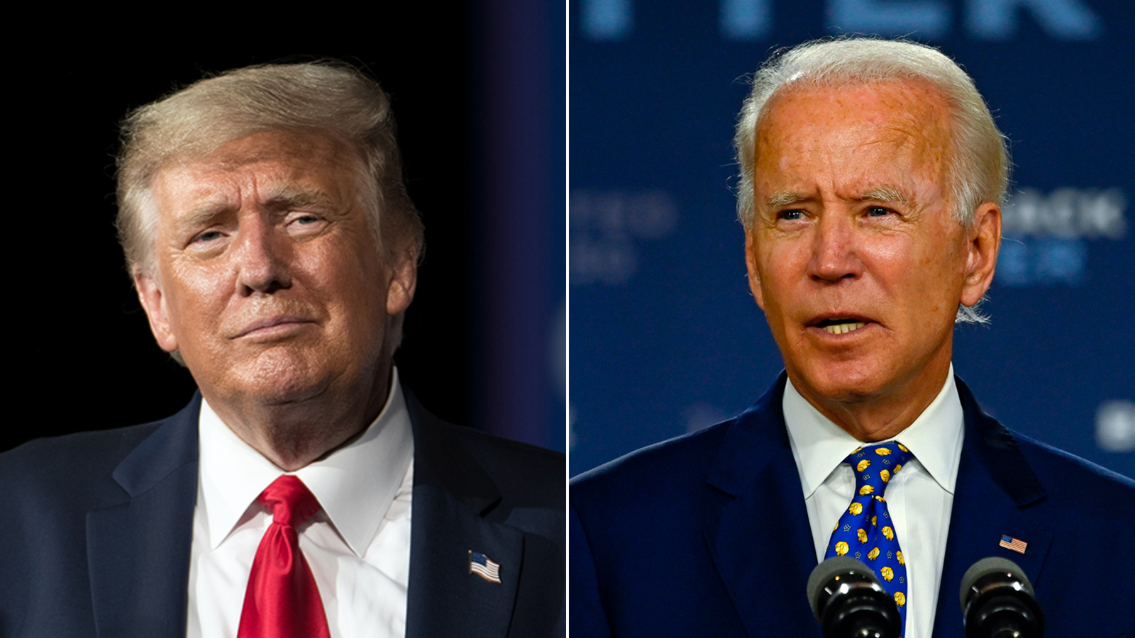 Trump and Biden enter critical weekend as they prepare to face each other in first debate
