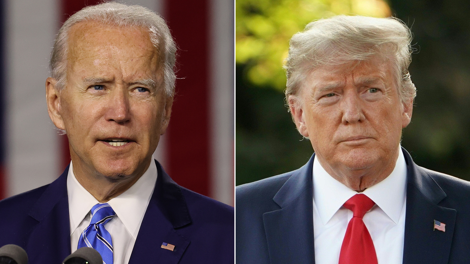 Biden and Trump hold dueling Florida rallies as election and pandemic converge